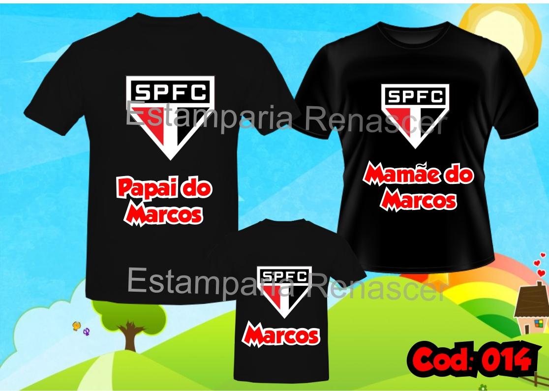 6afbe9c513 Kit Camisetas Aniversário Time C 3 no Elo7