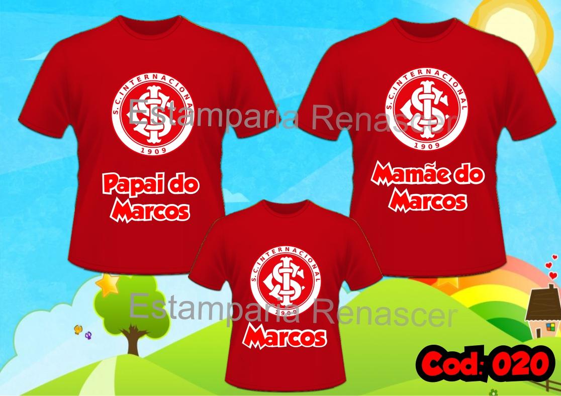 Macacao Meu Time de Futebol Inter  631c24d192f04