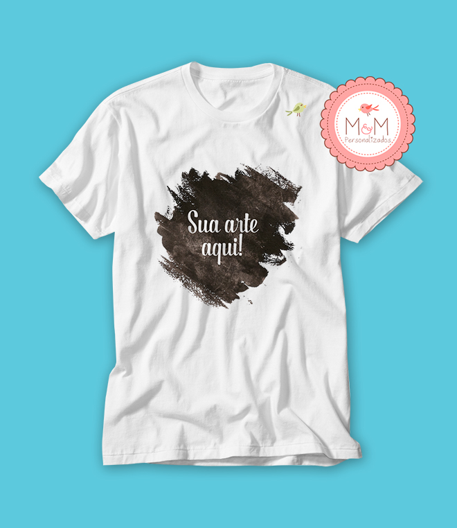 Camisa Personalizada Sua Arte Aqui  a585302c5e909