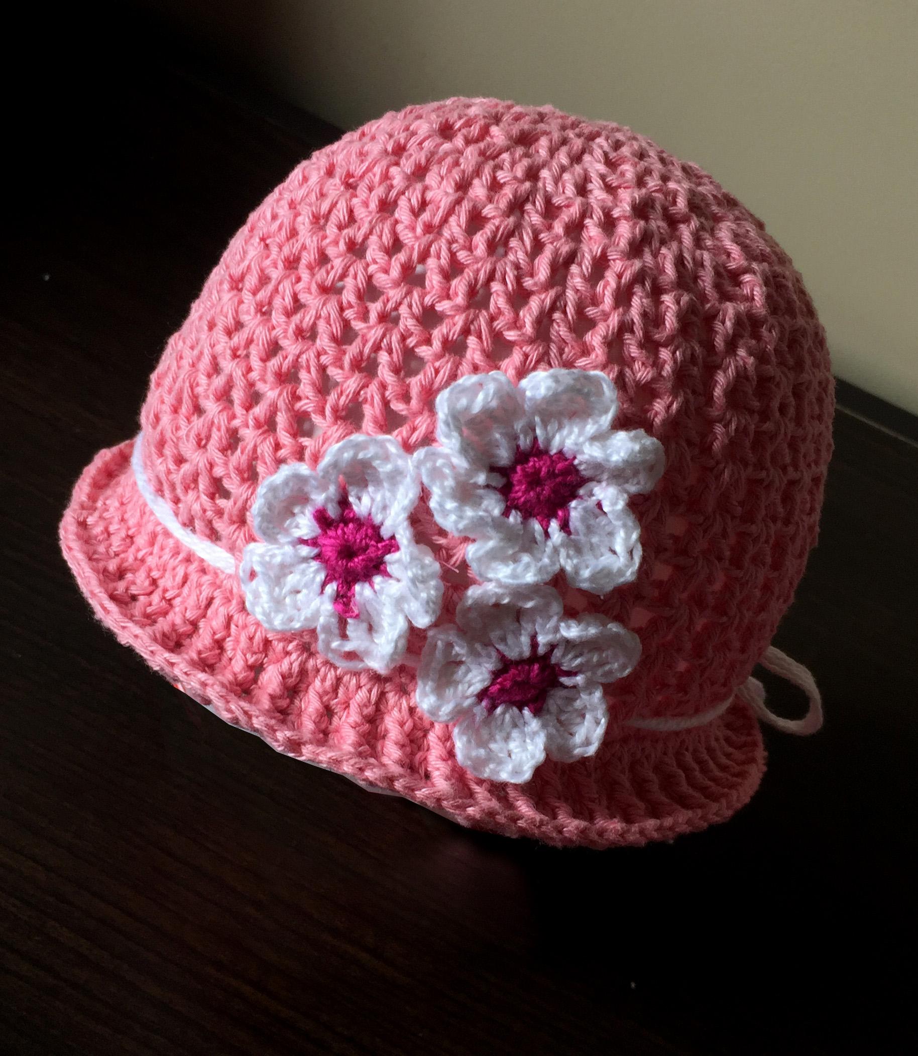 Chapeu de Croche Infantil  b0f21e62416