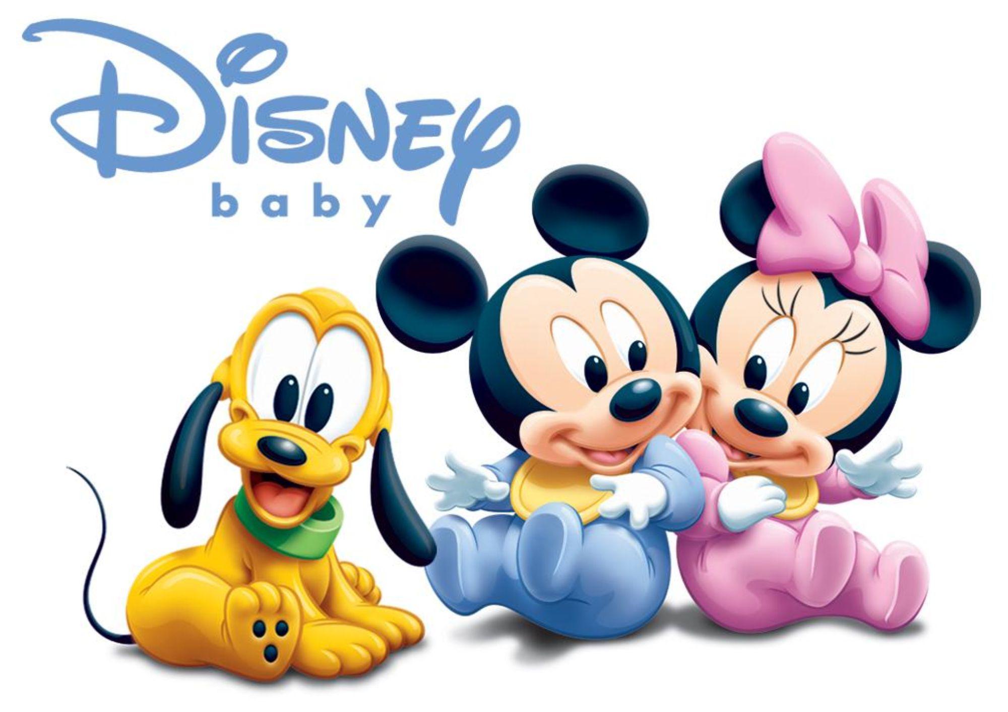 Poster Cartaz Mickey Minnie Pluto Disney Baby No Elo7 Ashow