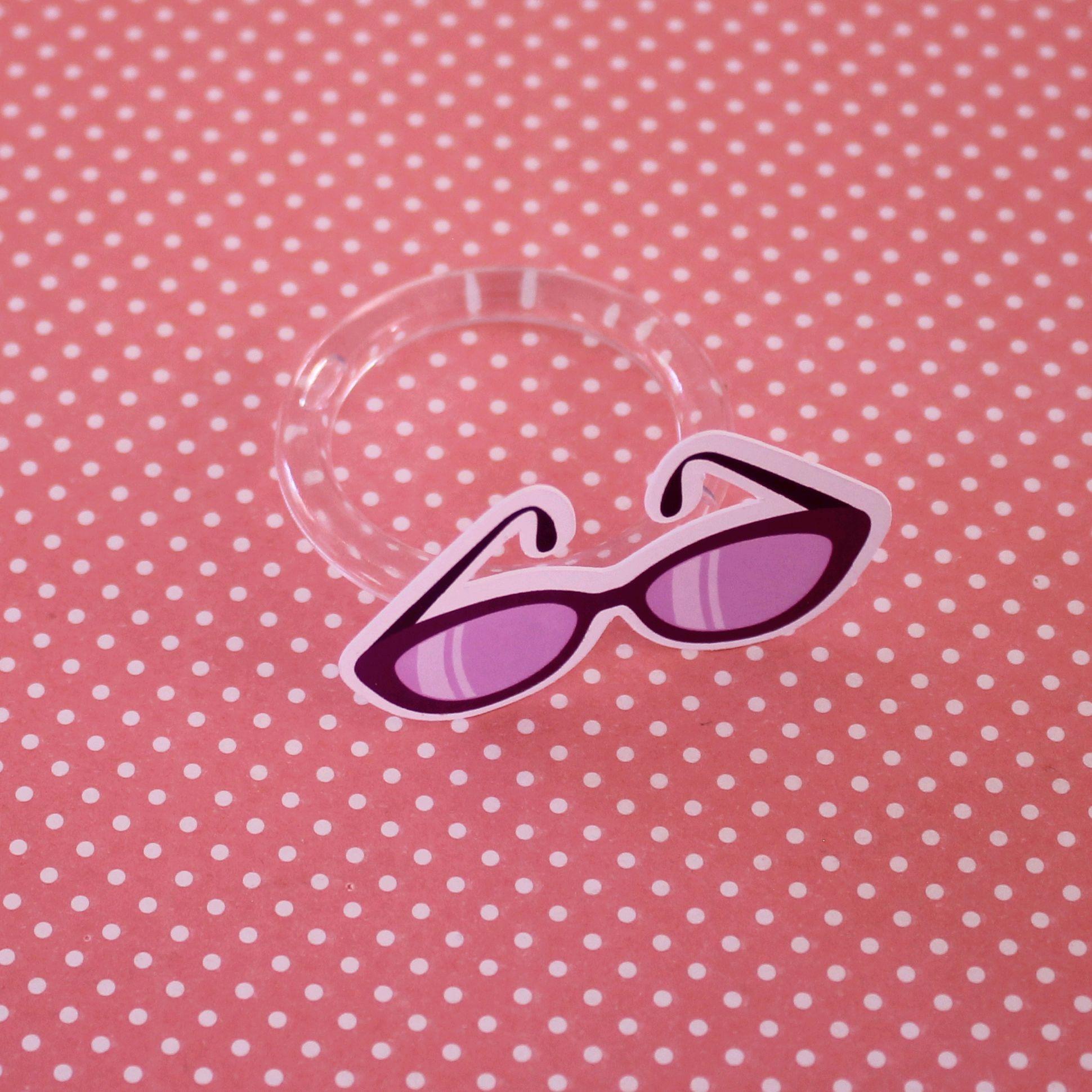 ff70769427245 Porta-guardanapo - moda - óculos de sol no Elo7   A Carol que fez - festa e  decoração - Ribeirão Preto (BDBA0F)