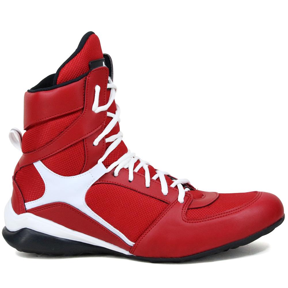 43b2467a4b4 Tênis Academia Masculino Confortável Treino Vermelha no Elo7