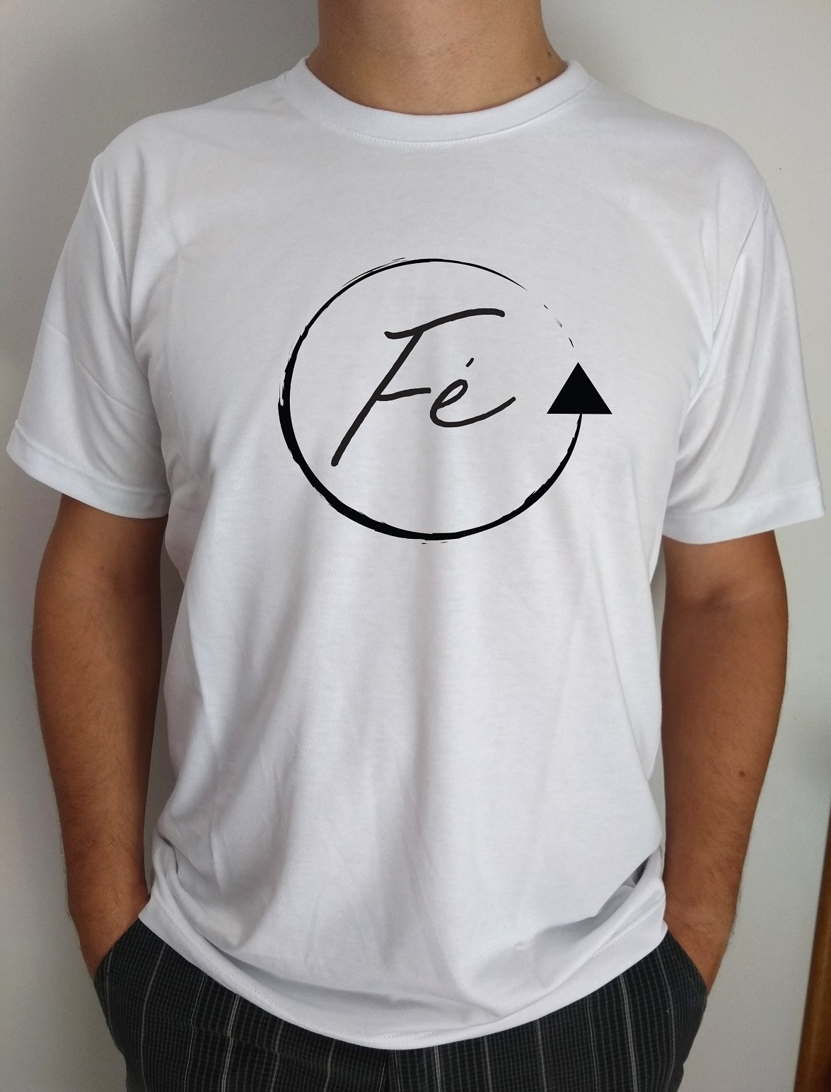 Kit 5 Camisetas Fé Gratidão Amor Gospel Atacado no Elo7  85bf528134073