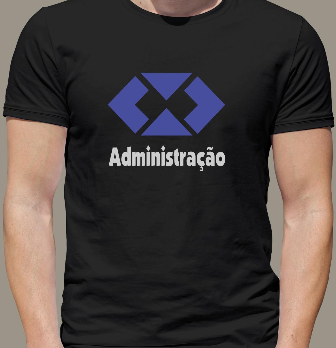 f64602cafb Camiseta Universitária - Curso Administração (100% Algodão) no Elo7 ...