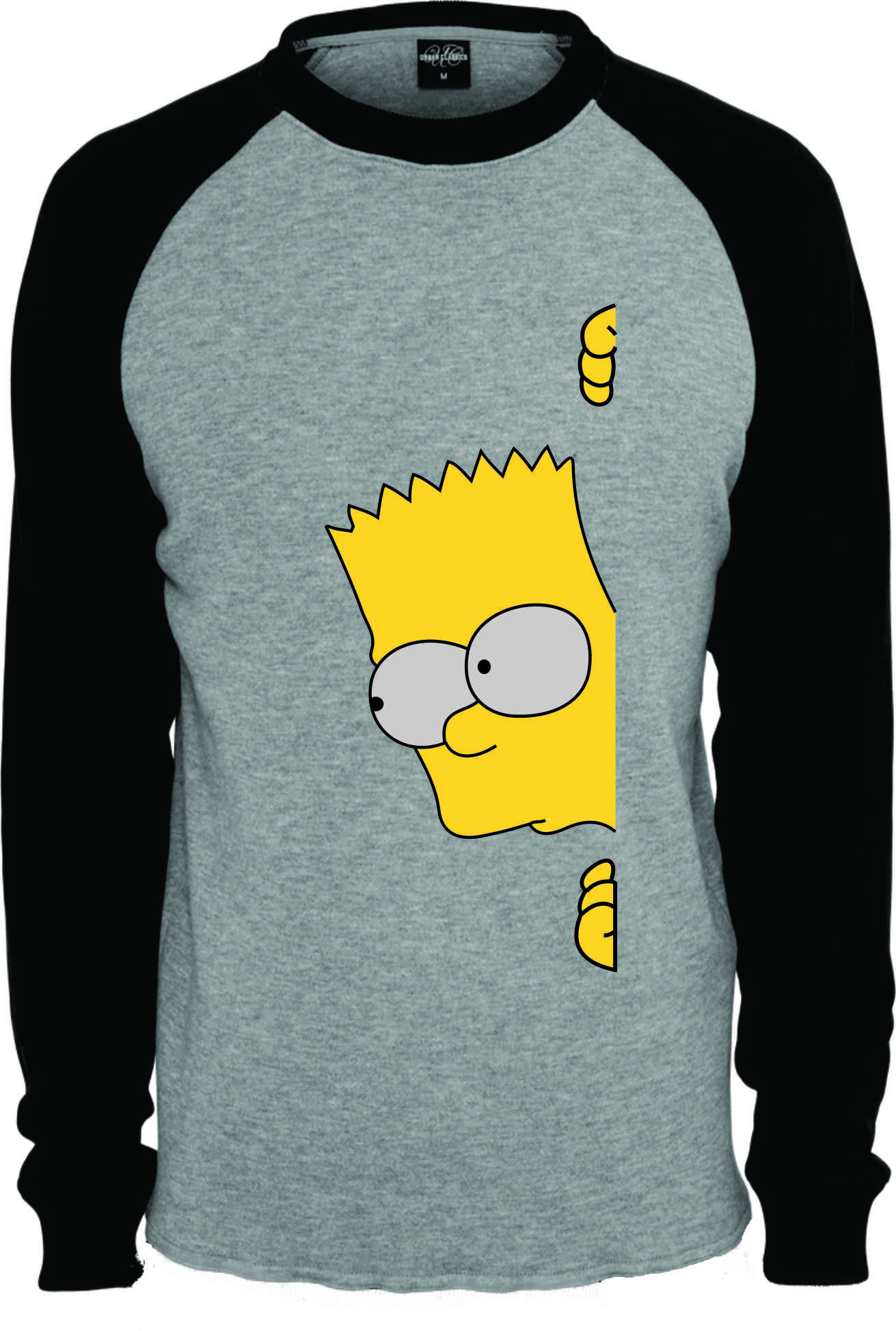 b779e9209 Camiseta Raglan Bart Manga Curt