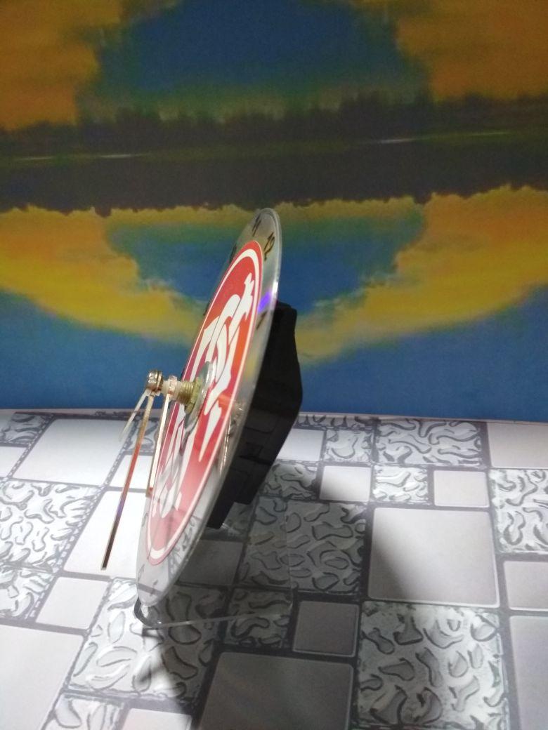 5ae9c6f8833 Relógio de Mesa Internacional no Elo7