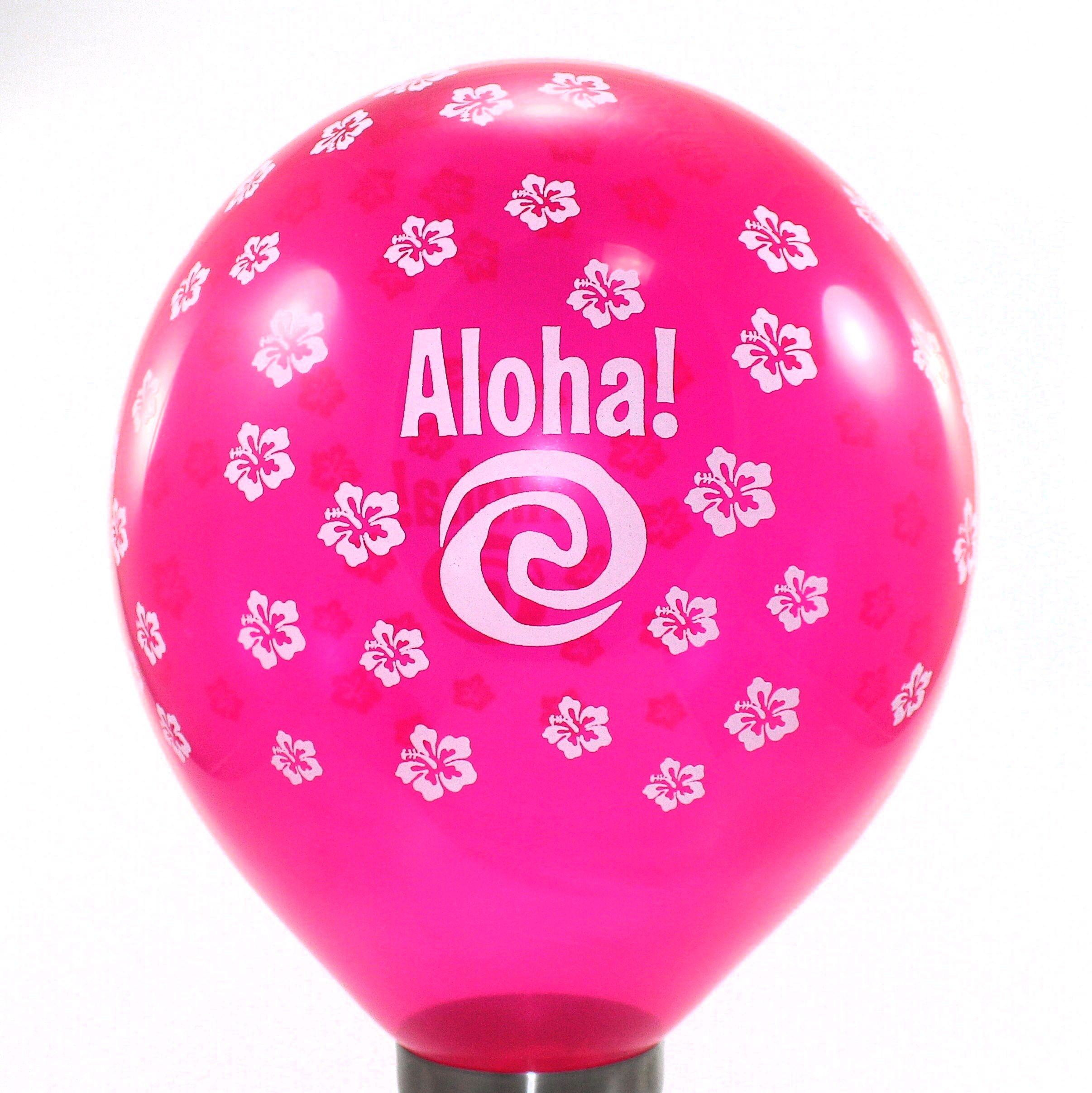 40 Unidades Balão Bexiga Festa Havaiana 7 Cores No Elo7 Mi