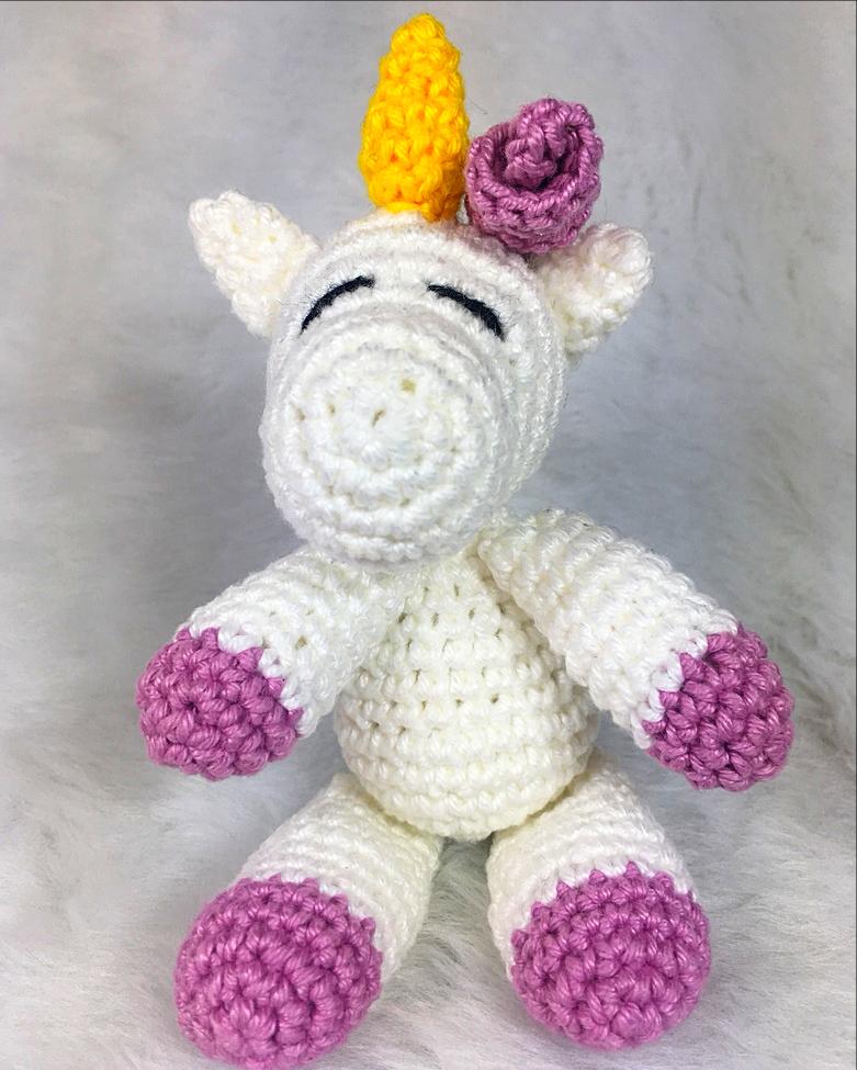 patron gratuito unicornio amigurumi crochet | Crochet patrones ... | 975x781