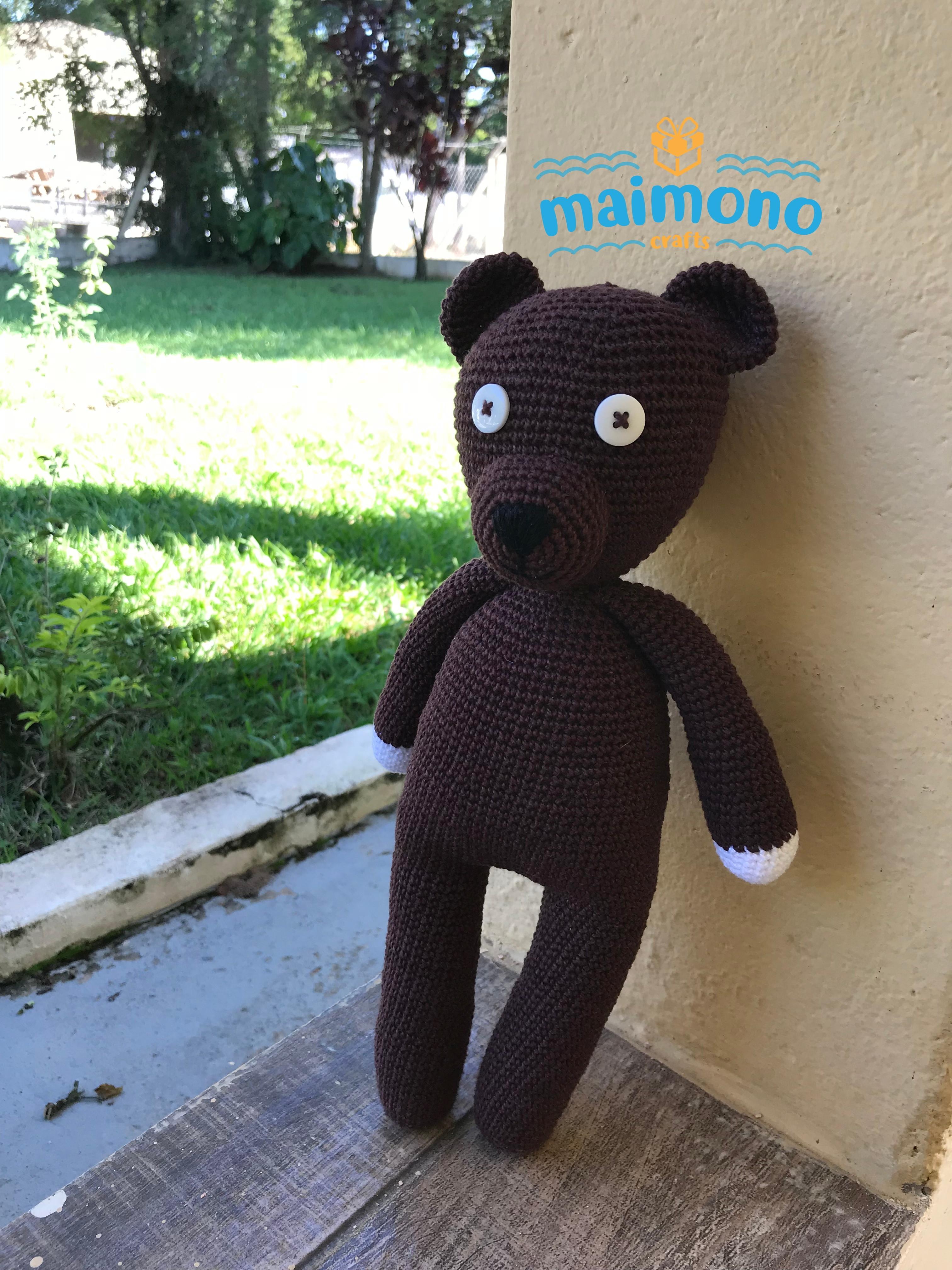 Lenn's Craft ♥ Handmade doll♥ Amigurumi ♥ : Mr. Bean Teddy bear ...   4032x3024