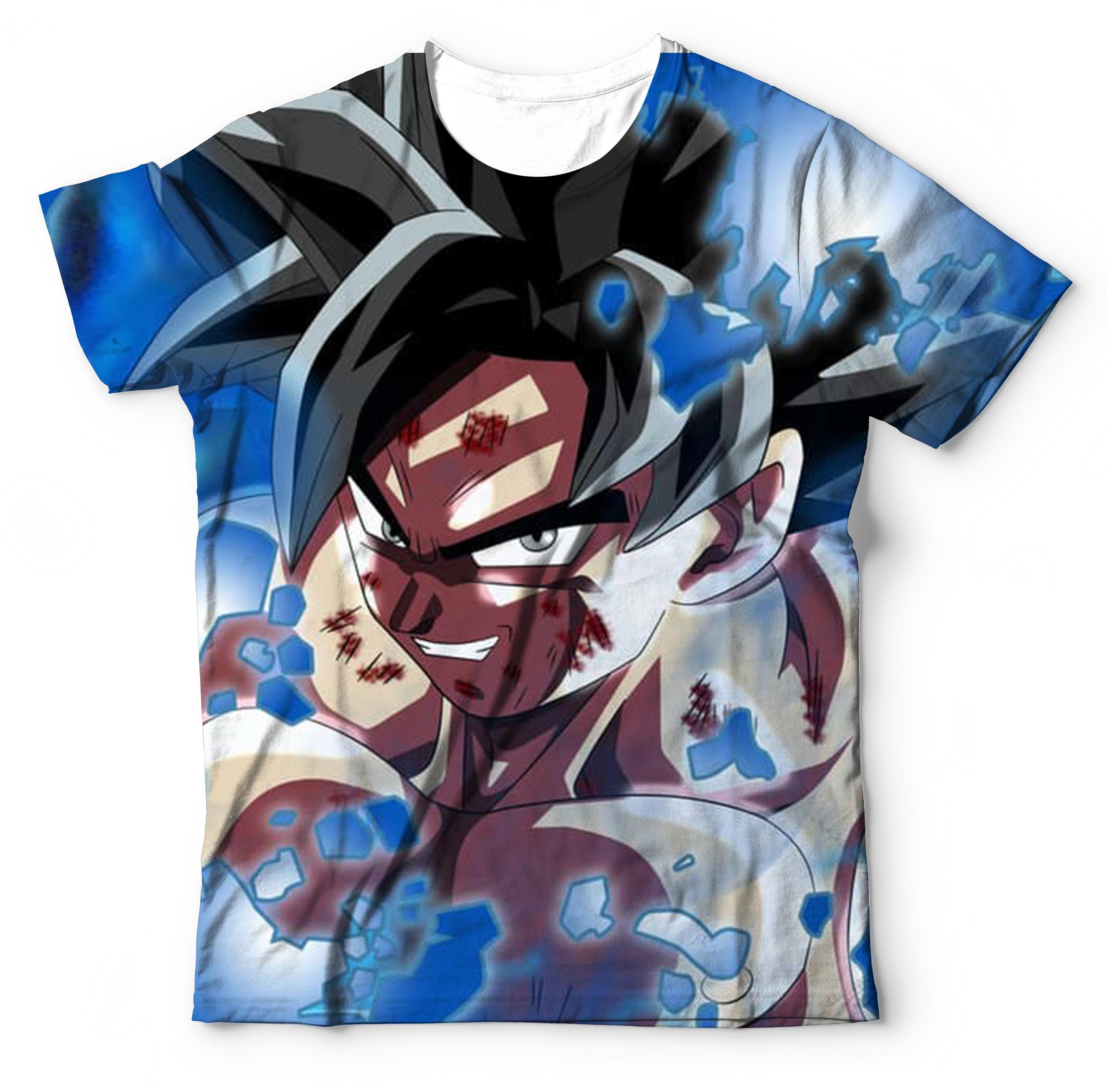 3bbe18193a 6 Camisa Camiseta Dragon Ball Super Atacado no Elo7