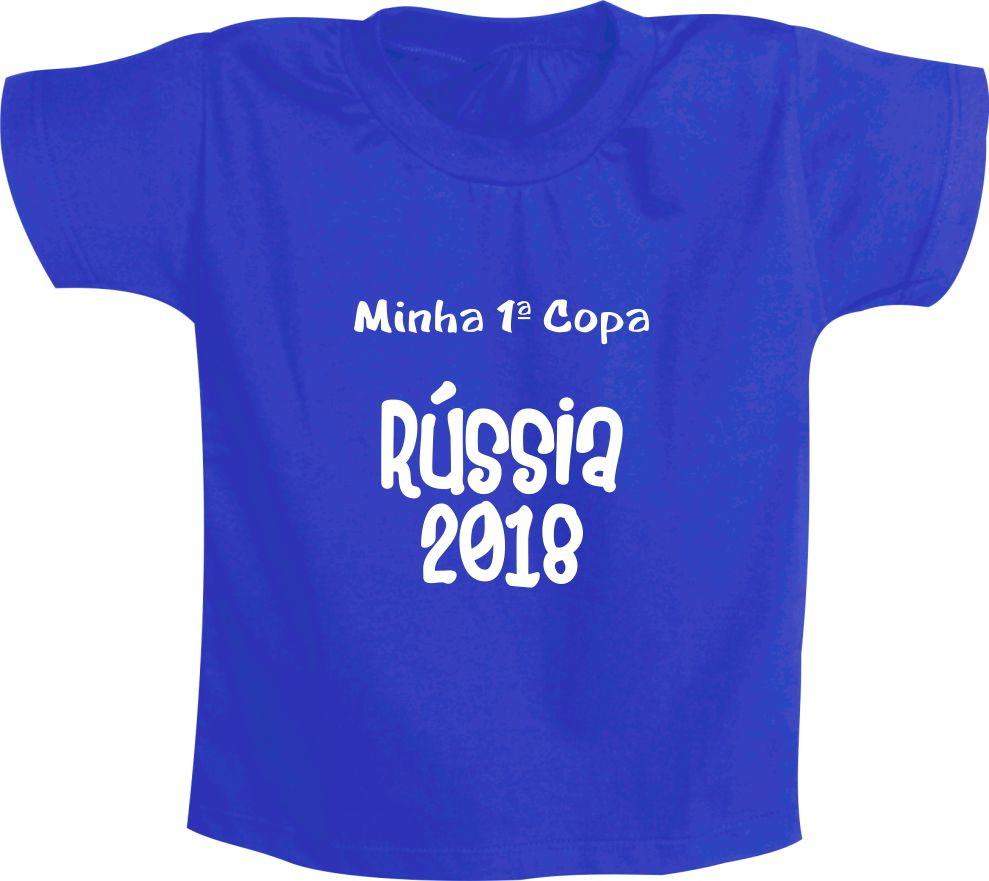 c946c3fee0 Camiseta Copa Russia Infantil Mascote