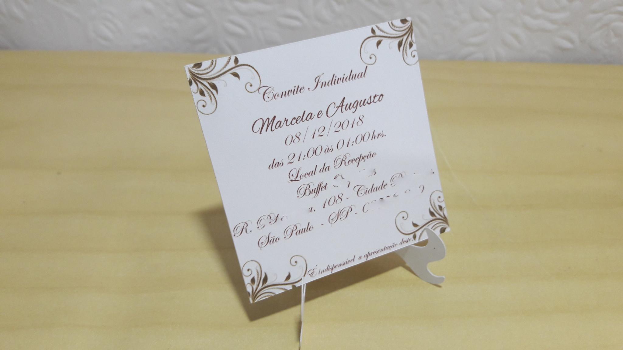 Convite Individual De Formatura Elo7