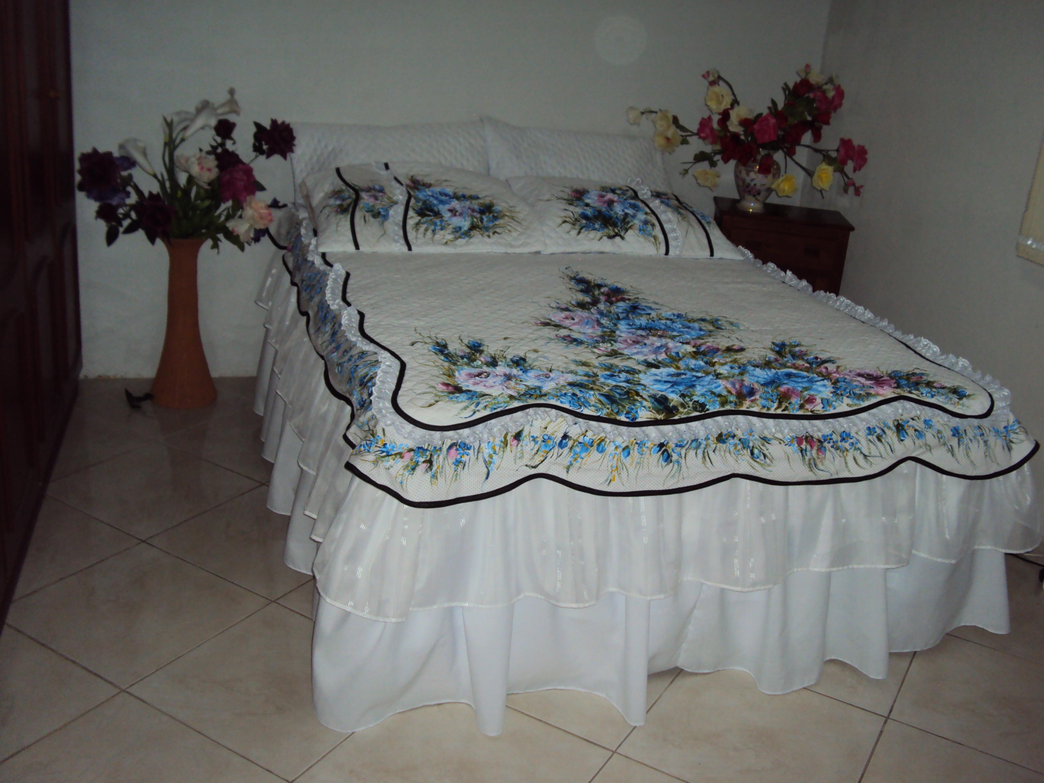 Colcha Matelassê King 3 Peças   Elo7 31b94740c8
