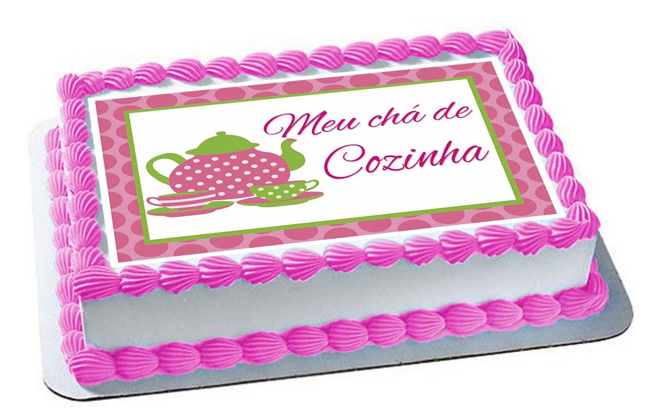 2d73aa804bcb8 Arte Digital Papel de Arroz Tema Cha de Cozinha