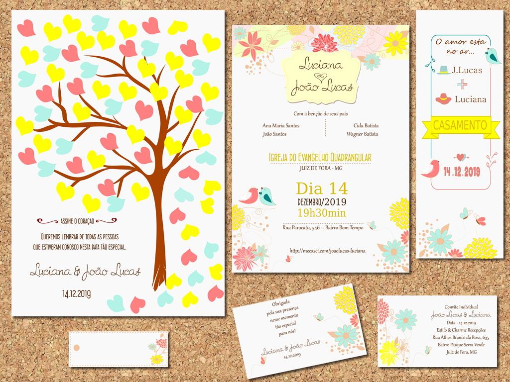 Design Of Identidade Visual Casamento Arte e preço