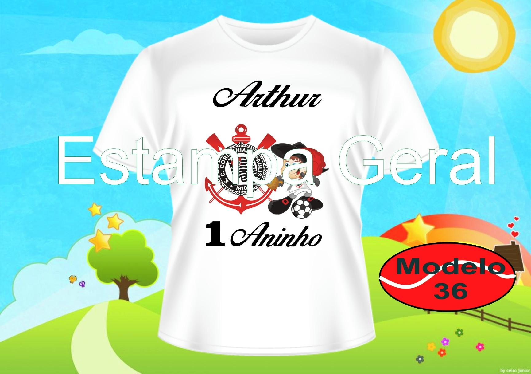 Camiseta Infantil Time de Futebol  6c7d5b9c36c24