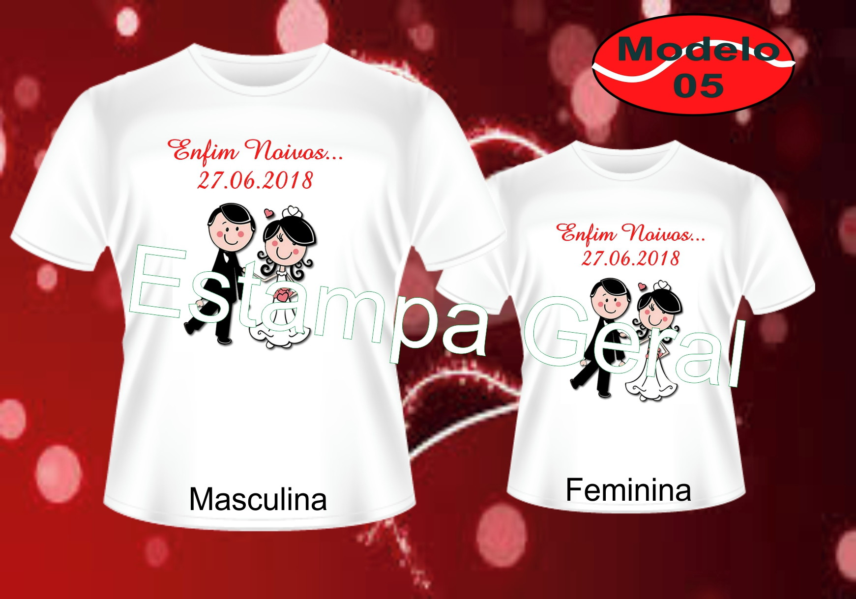 Camiseta Noivado  b77b9a27d65