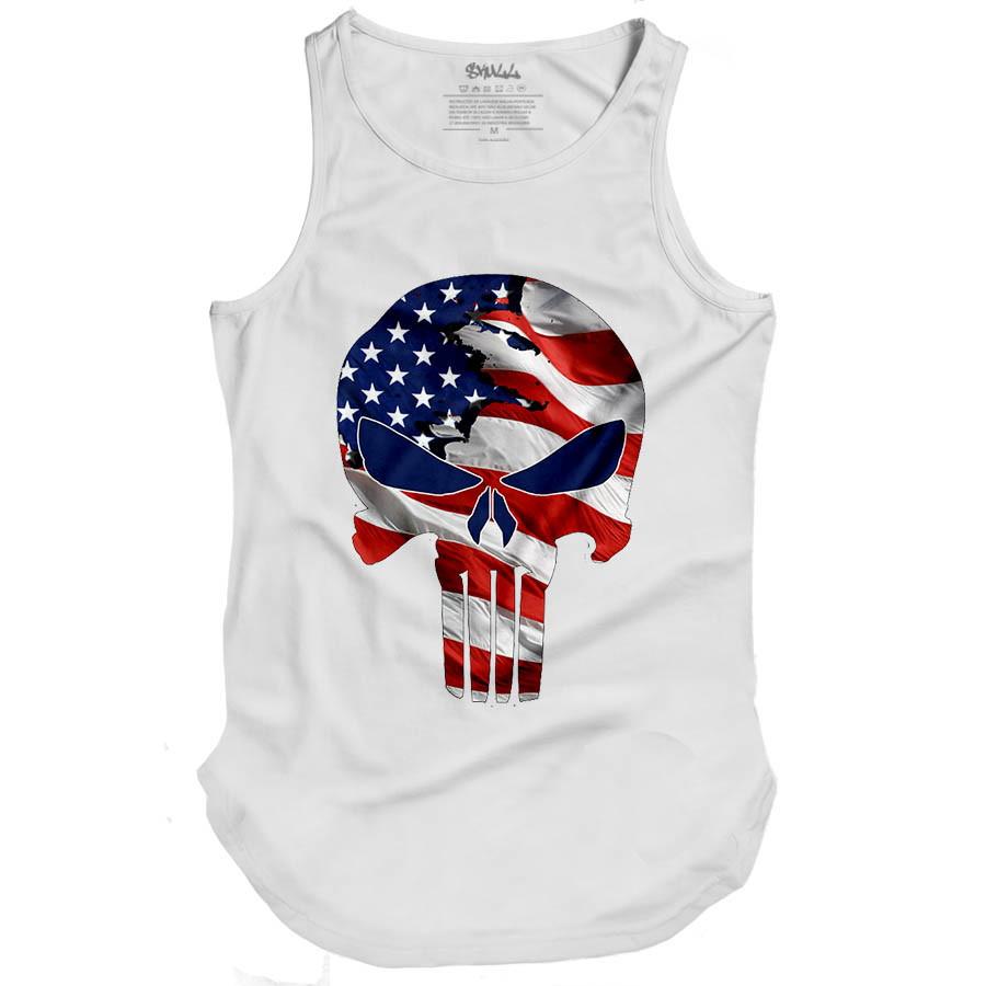 Camiseta Regata Swag Justiceir Masculina Oversized Longa  cbb03081c8e