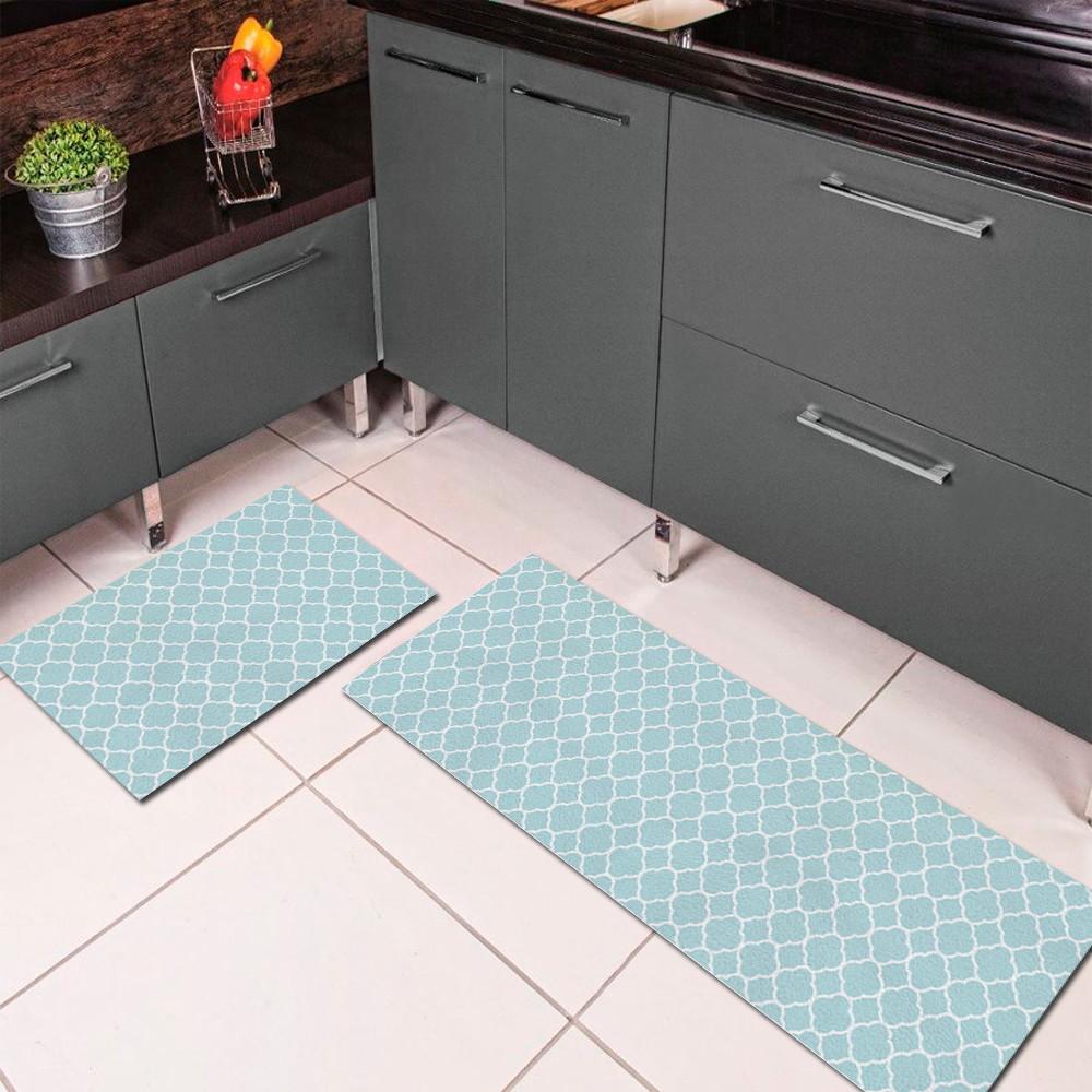 Tapetes Para Cozinha Modernas Tapete Cinza Em Cozinha Clssico