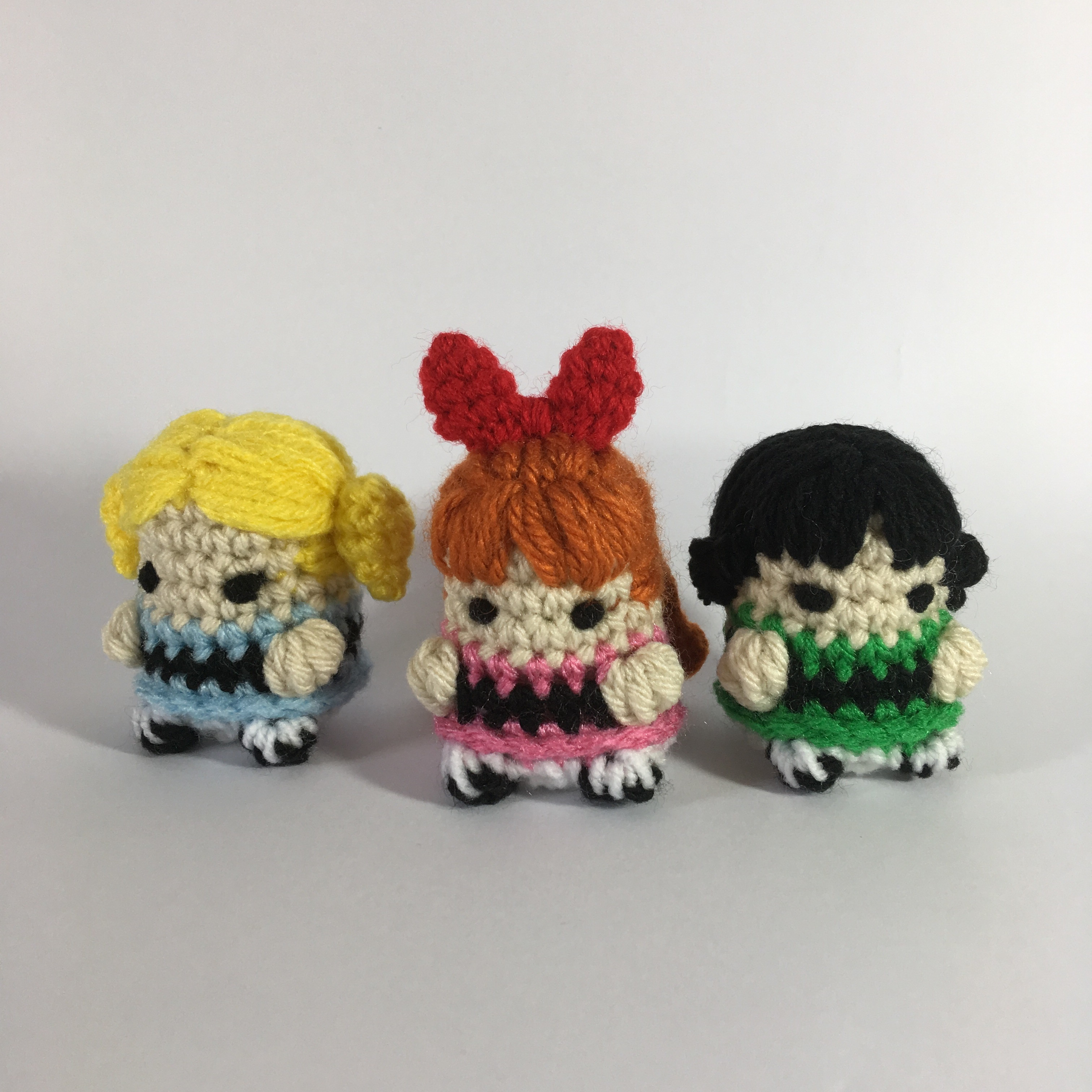 How to crochet doll amigurumi Powerpuff Girls cartoon كروشيه دميه ... | 3024x3024