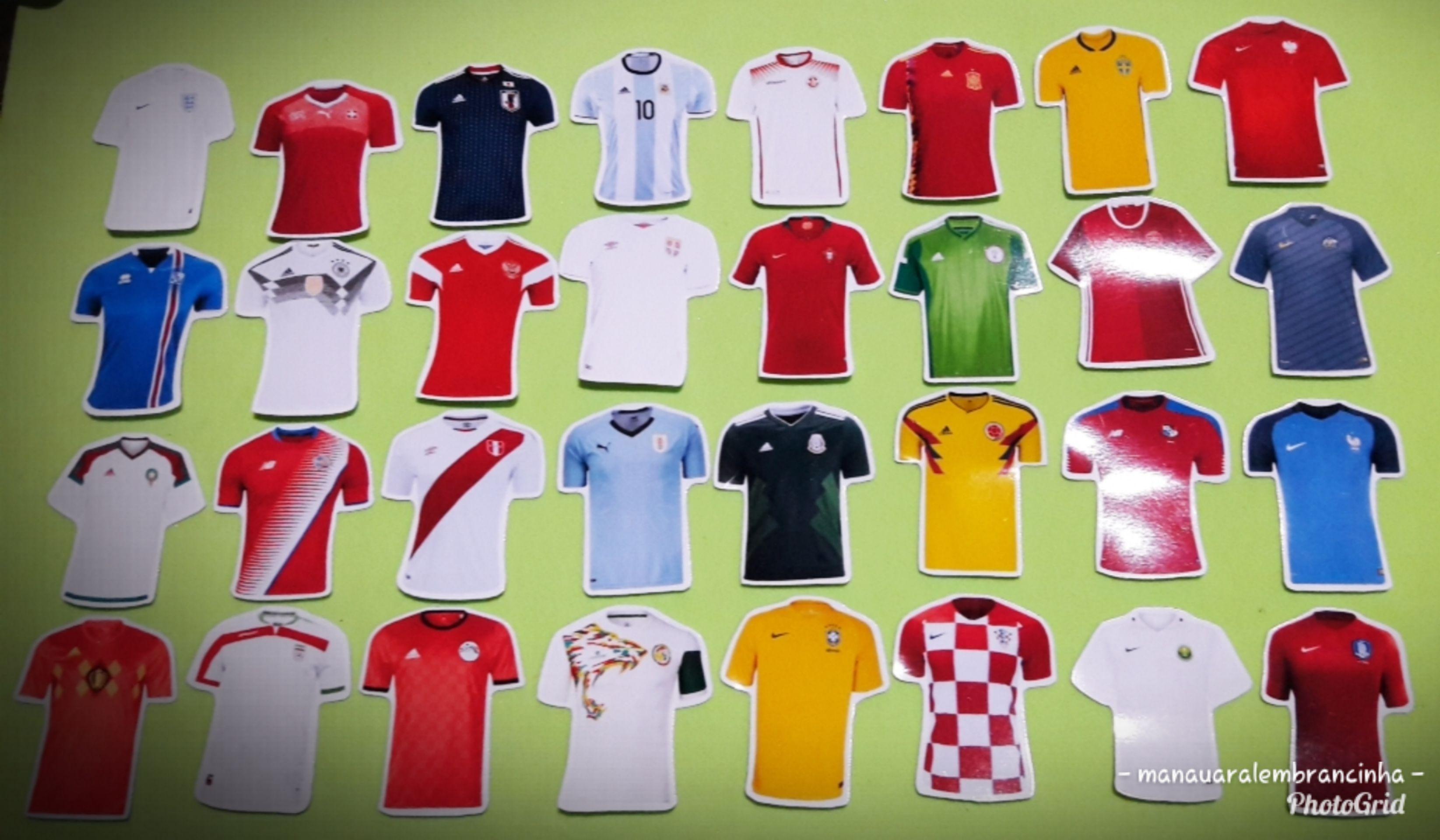 02392a7a15 Toppers camisas de futebol no Elo7