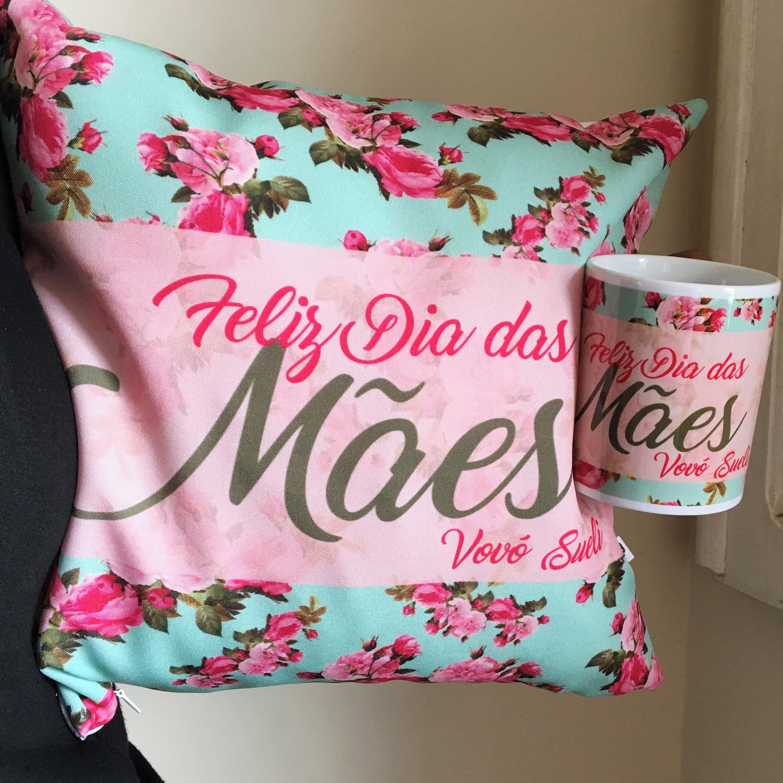 Kit Almofada E Caneca Feliz Dia Das Maes No Elo7 Camiseteria Sa