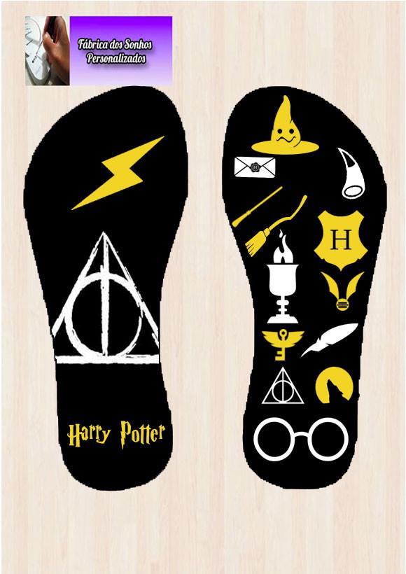 0efcf6c6473 Chinelo Harry Potter no Elo7