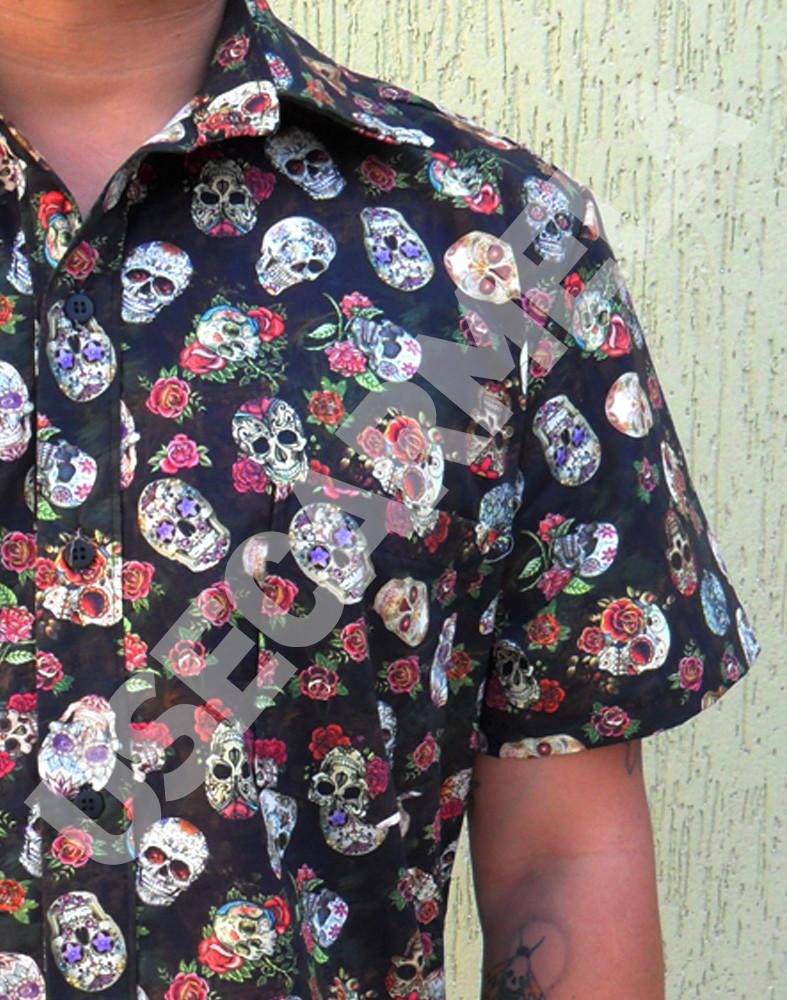 5dda526649 Camisa Casual Masculina Florida