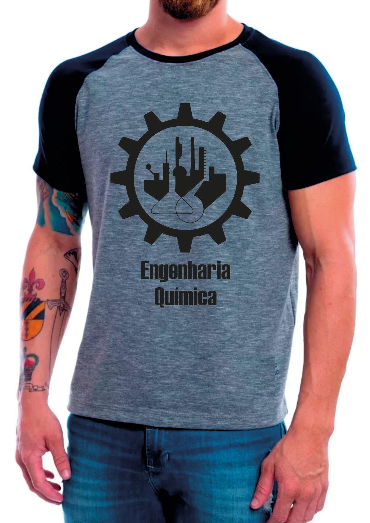 7287b3747 Camisa Masculina Eng Quimico