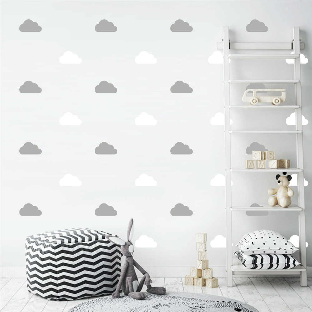 Adesivo Nuvens Branco E Cinza No Elo7 Decorando Seu Lar C1a8dc