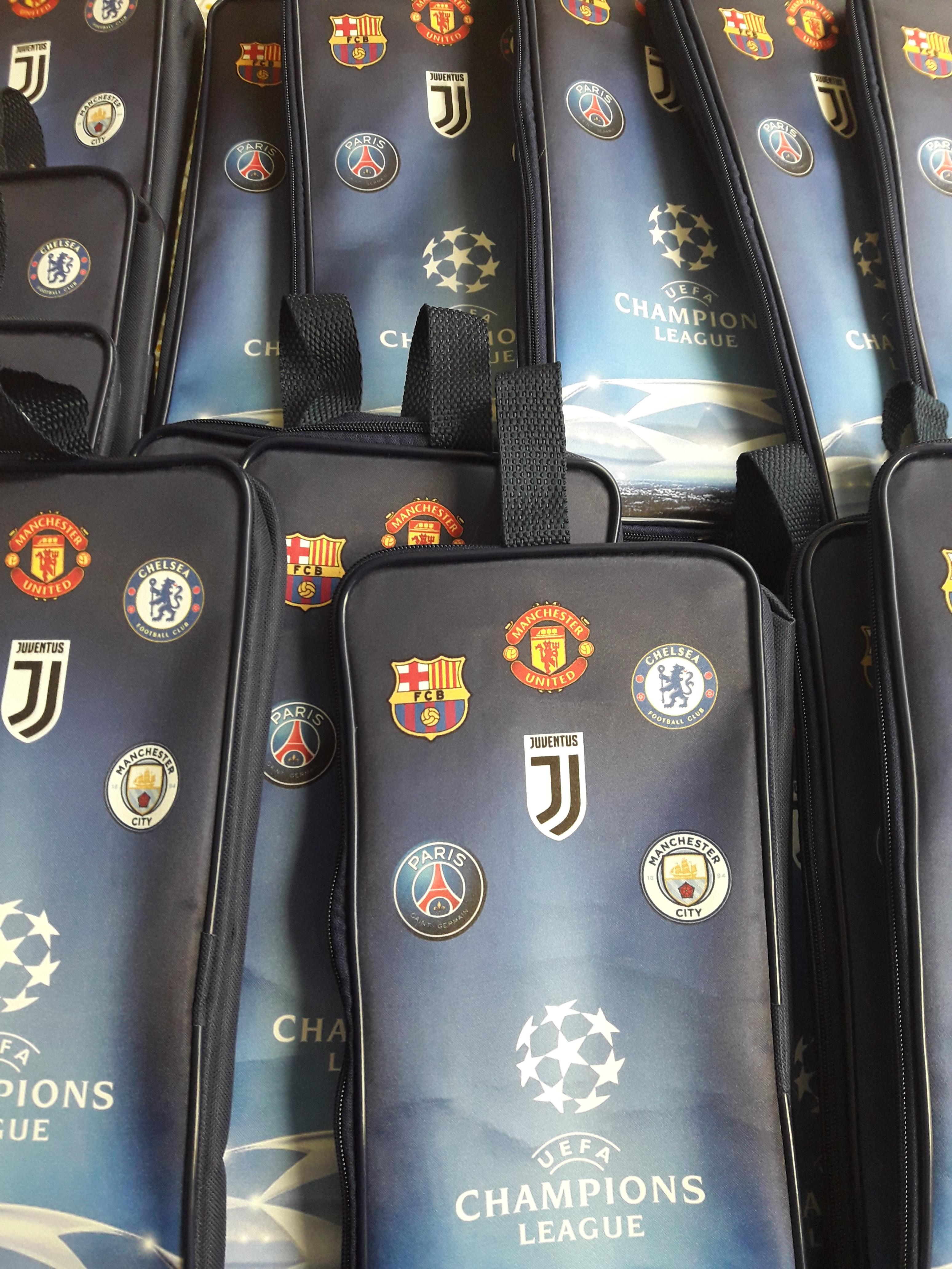 Porta Chuteira Champions League Futebol  a303f3179b93c