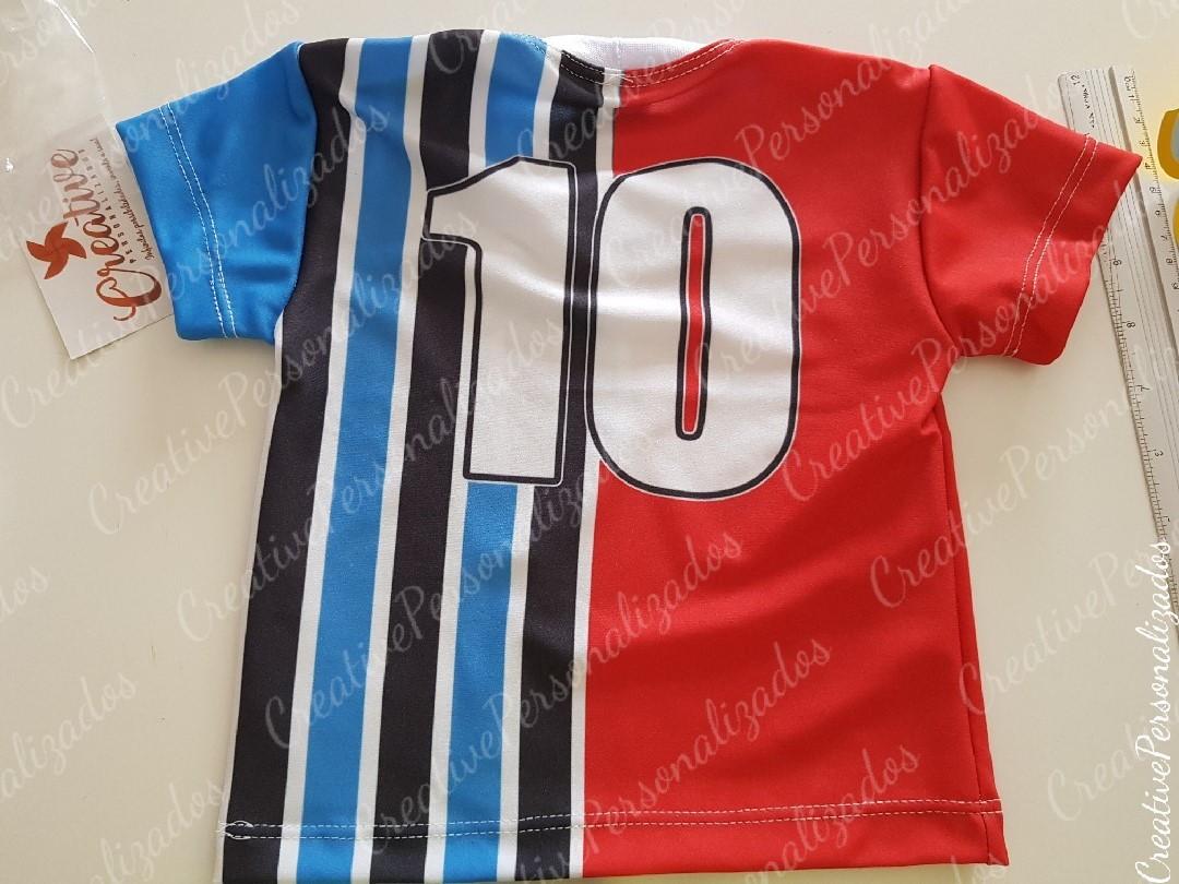 Camiseta Infantil GRENAL time grêmio inter no Elo7  9ba40ca8924e1
