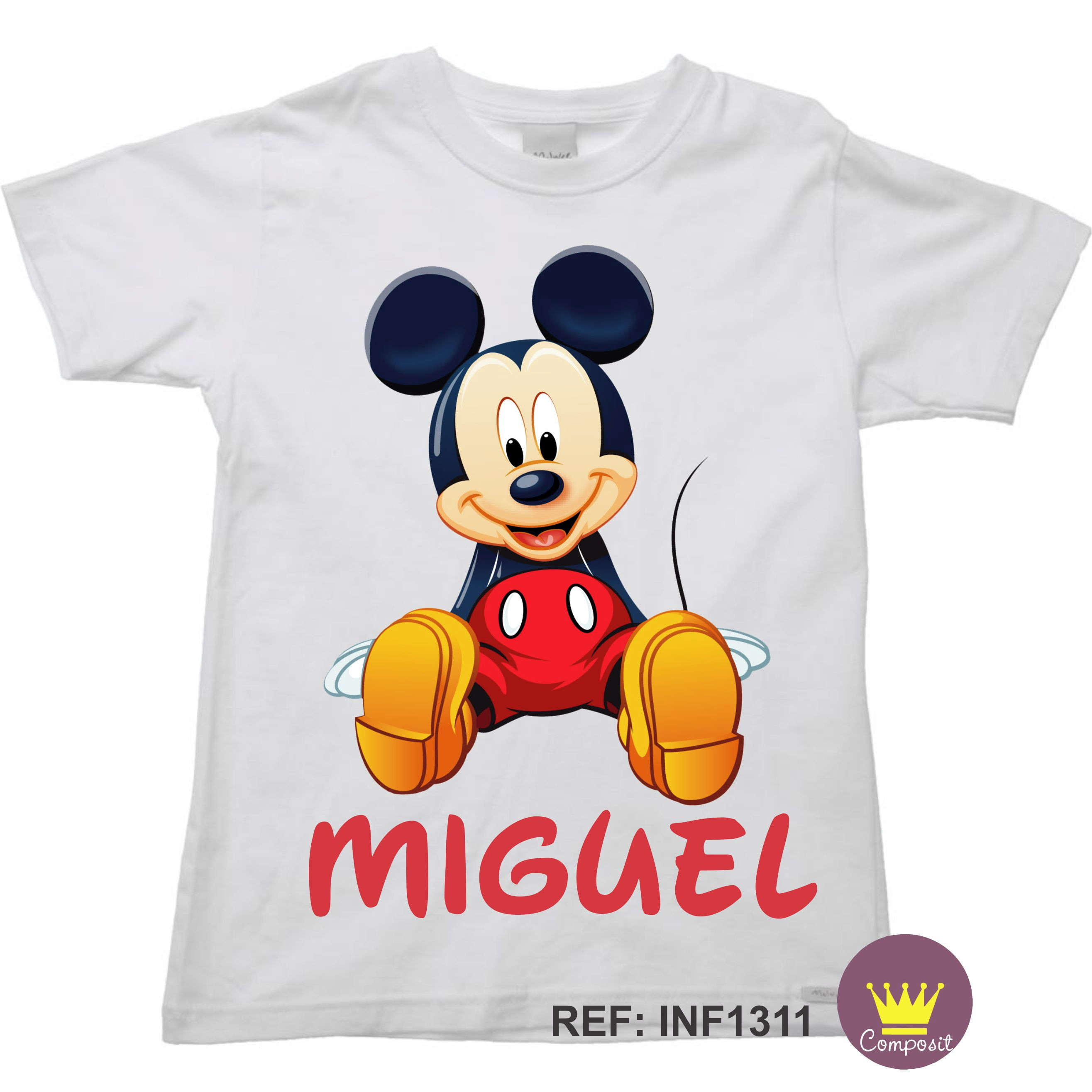 b7a58c6fa Body Infantil Mickey Disney 02
