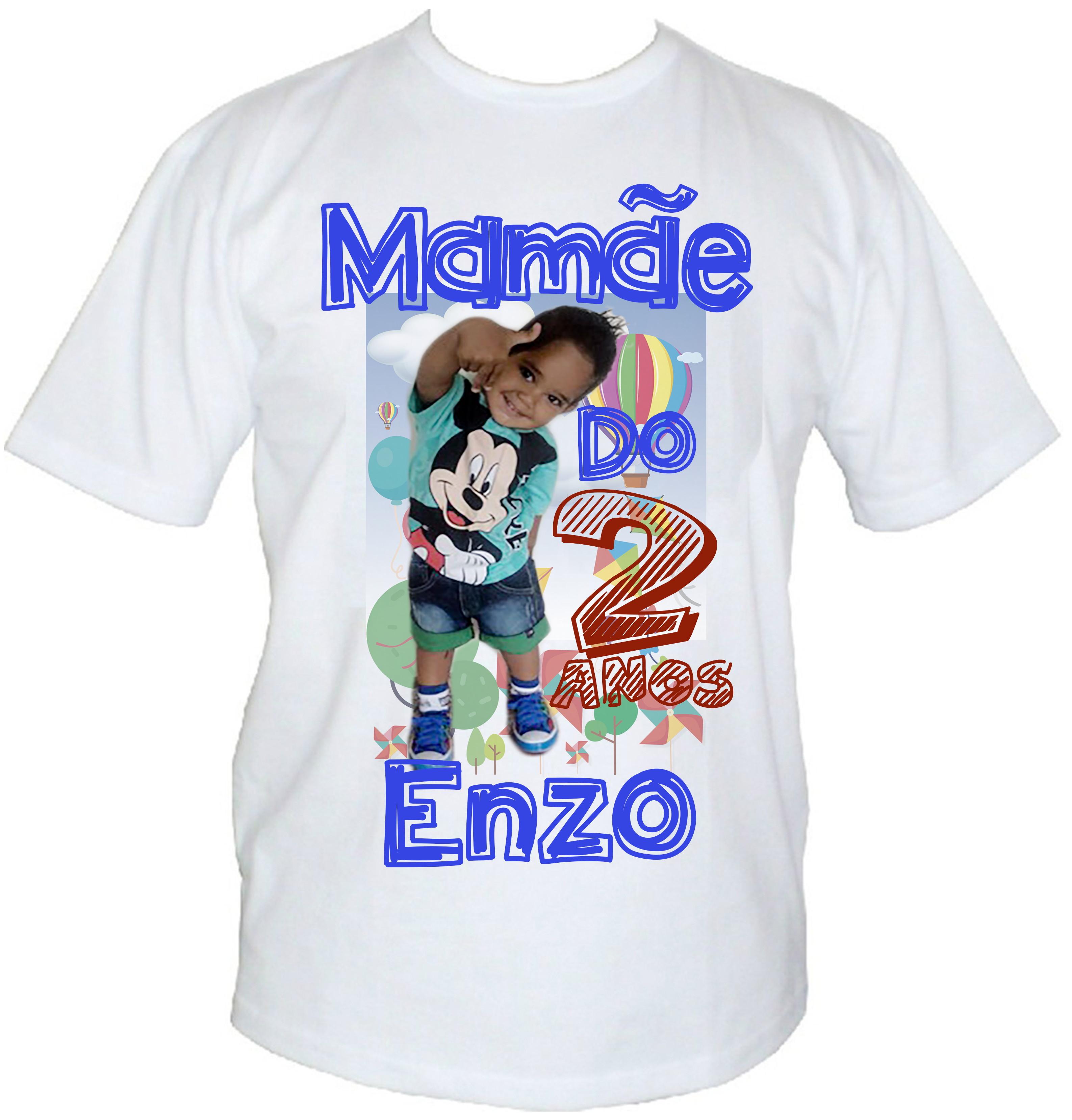 Camisa Personalizada com Sua Foto Frase  9d0dd2da162