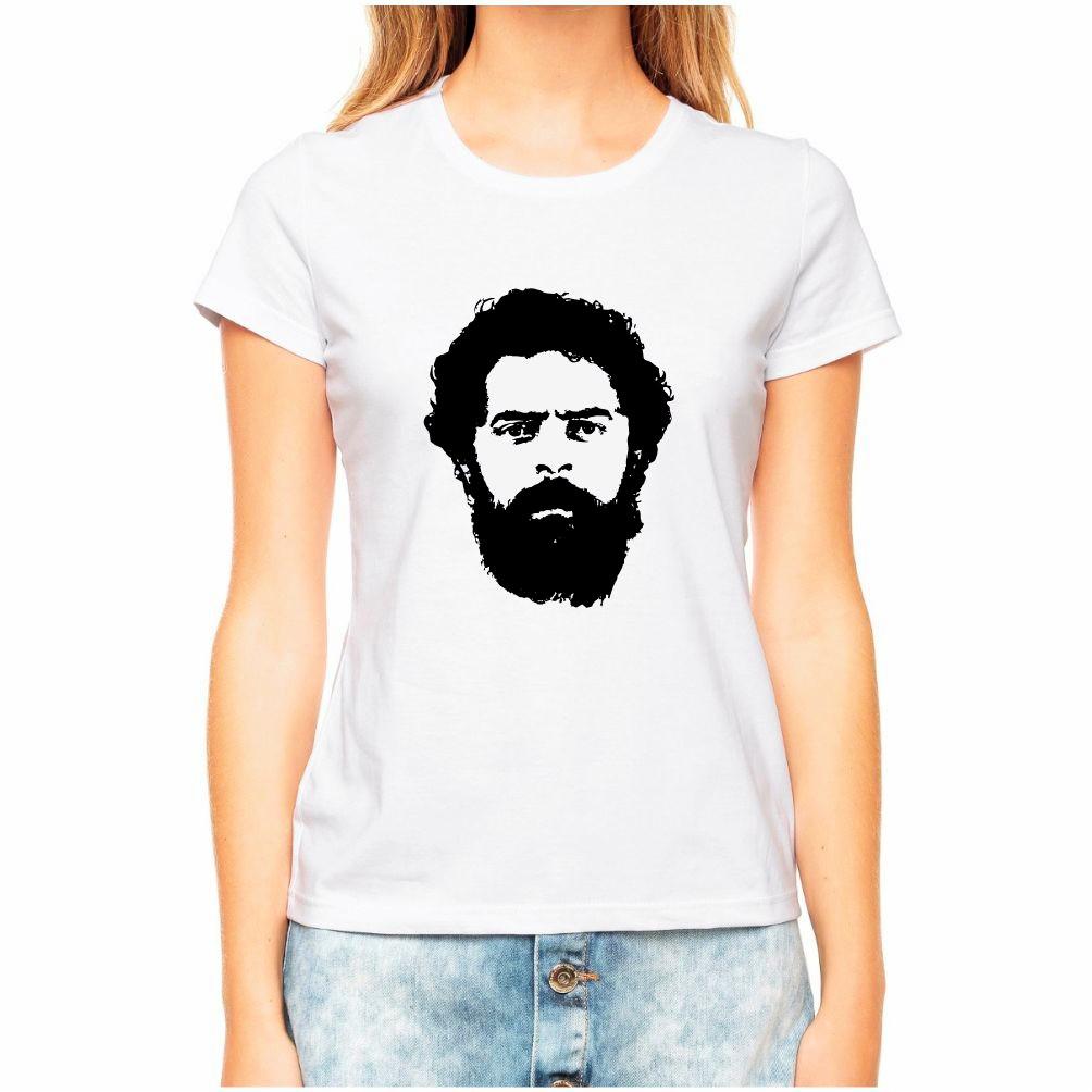 fe2877f792839 Blusa camiseta Baby Look Lula Presidente no Elo7