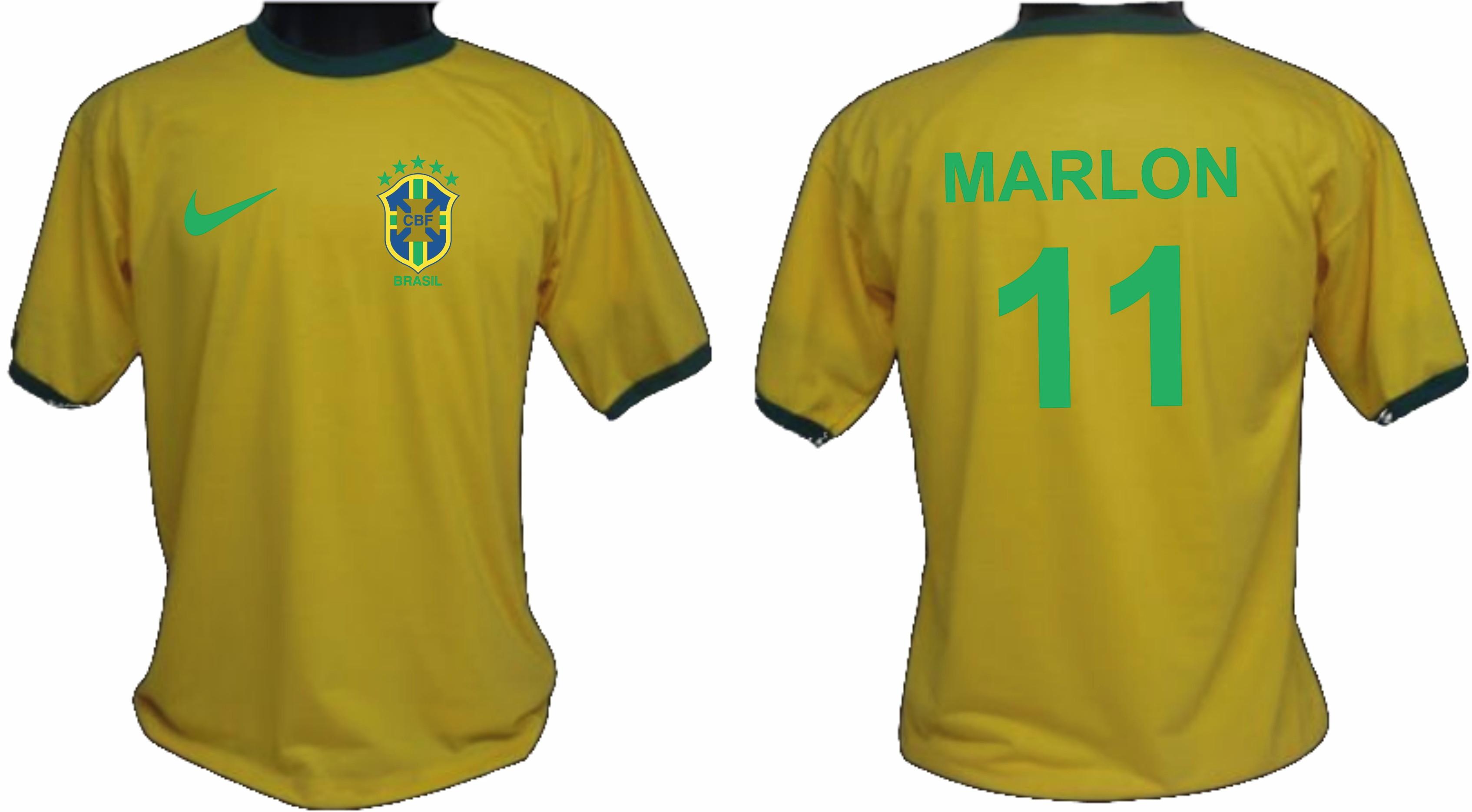 f13582fa4e Camiseta Bebe Seleção Brasileira