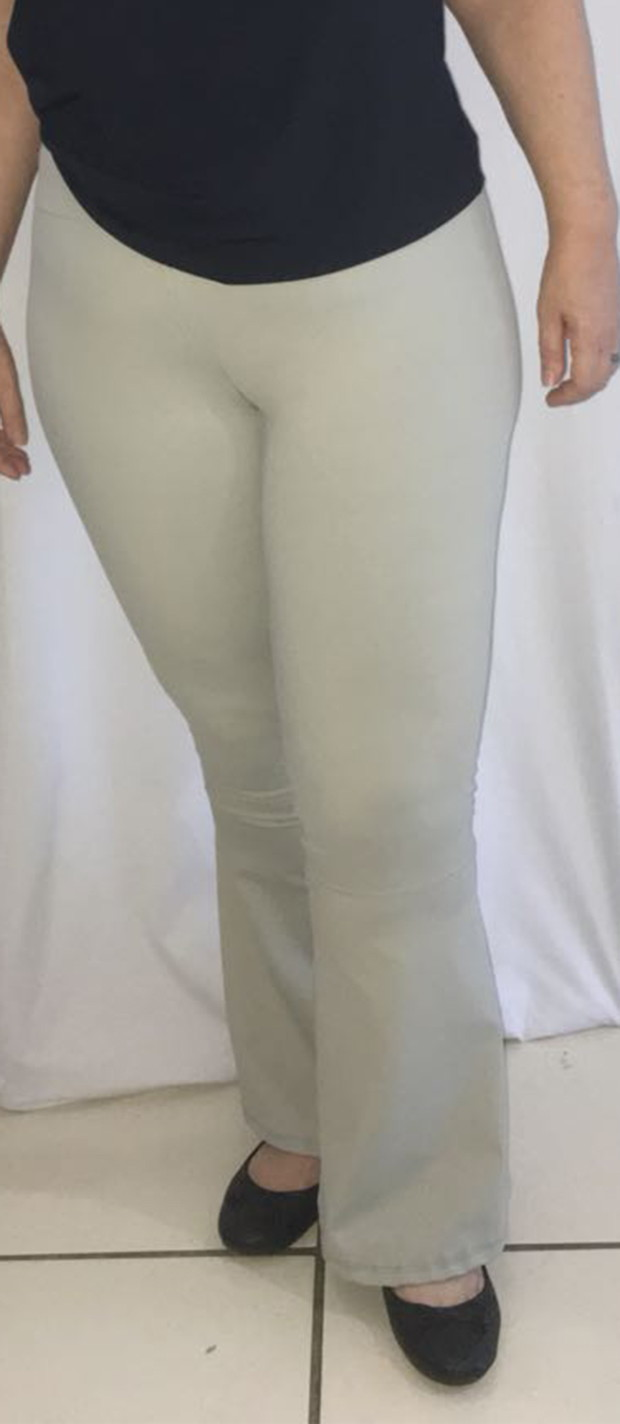 a1bb35795 Calça flare nude plus size no Elo7 | Fly Sports (C21038)