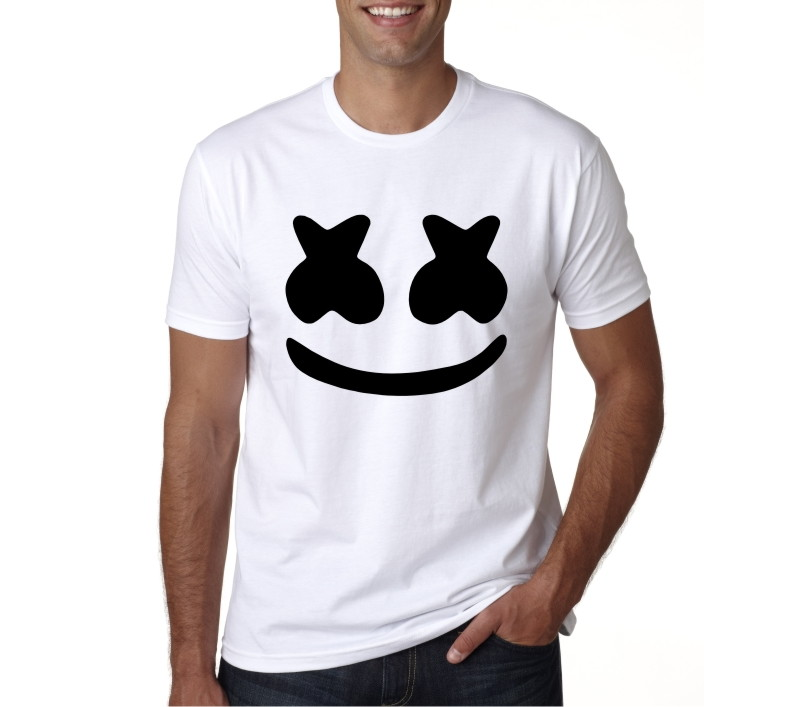 camiseta mÚsica dj marshmello no elo7 visual b c22c1d