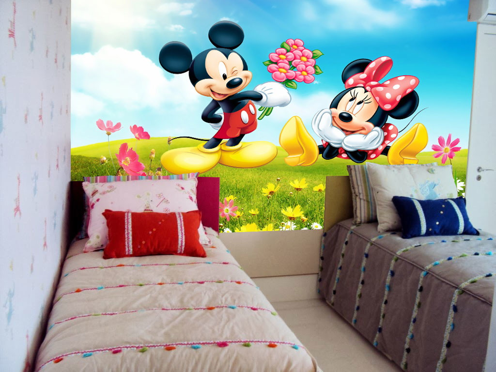 30 Ideias De Quarto Infantil Do Mickey Mouse: Well-known Quarto Mickey E Minnie KJ68