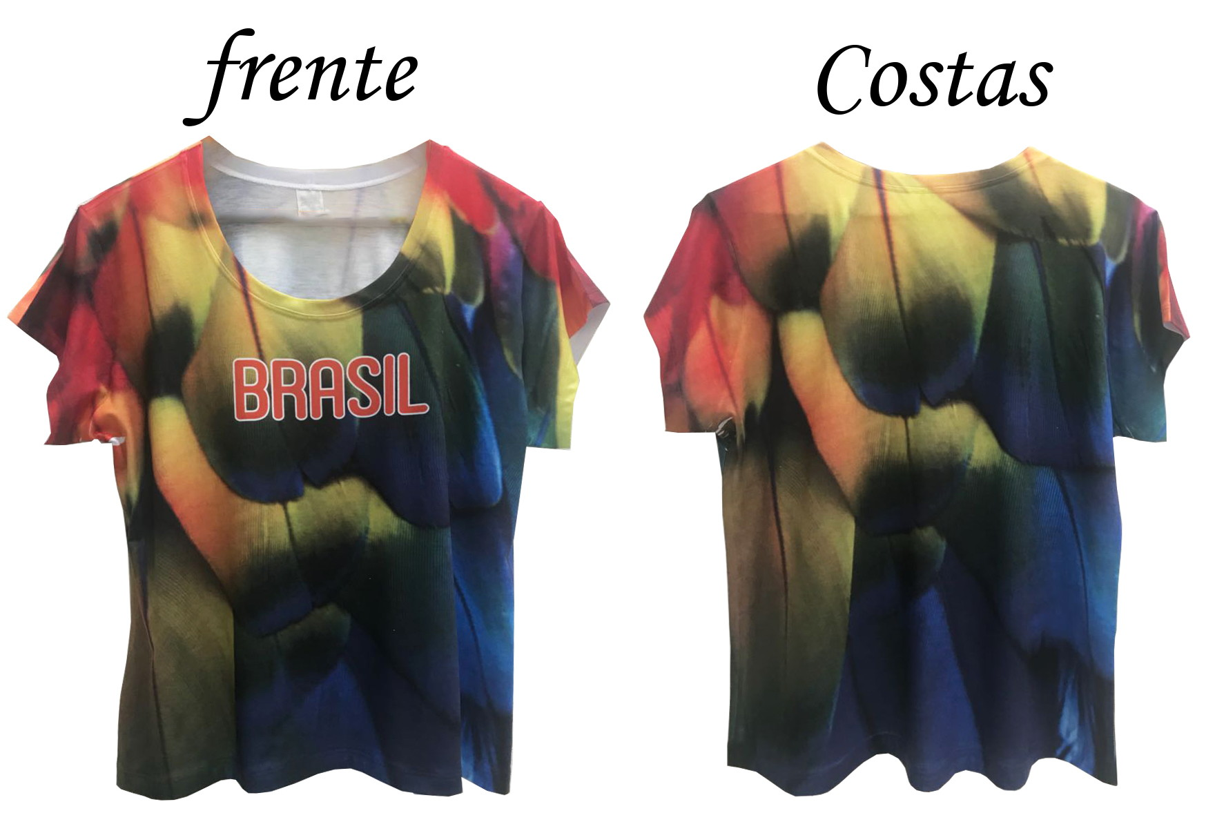 T Shirt Personalizada Feminina Copa Brasil Estampa Cheia no Elo7 ... baea16a501dad