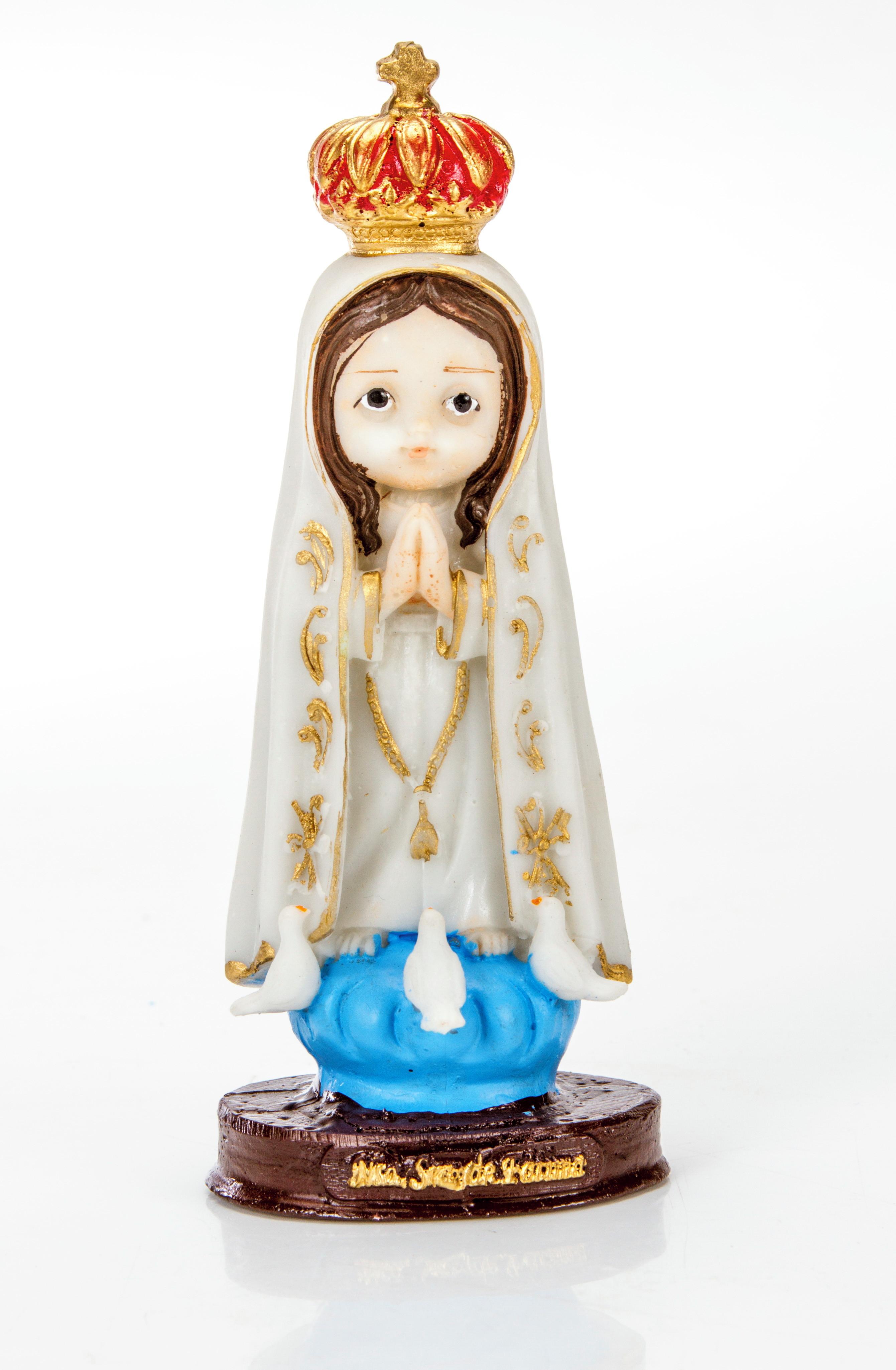 d133645e6 Imagem Nossa Senhora Gravida Resina 15cm