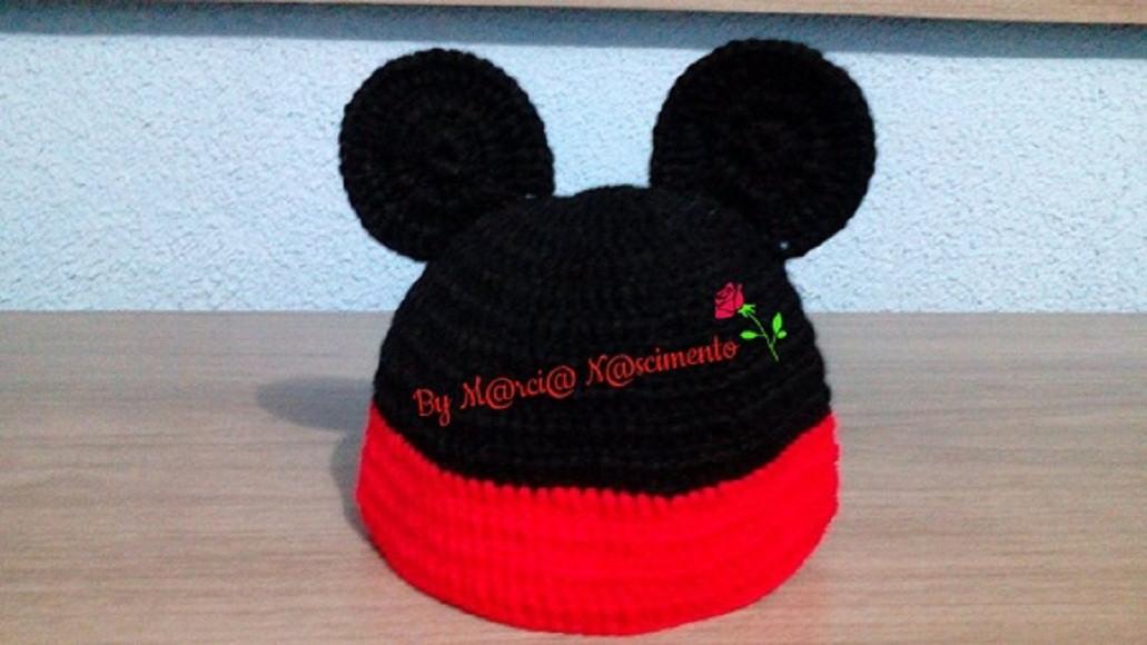 Faixa de Croche Minnie Mouse  ba75fac9120