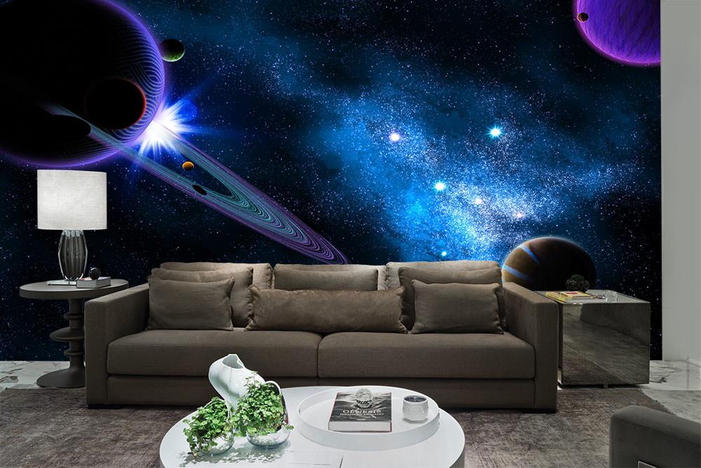 221a7258e Papel de Parede Universo e Planetas