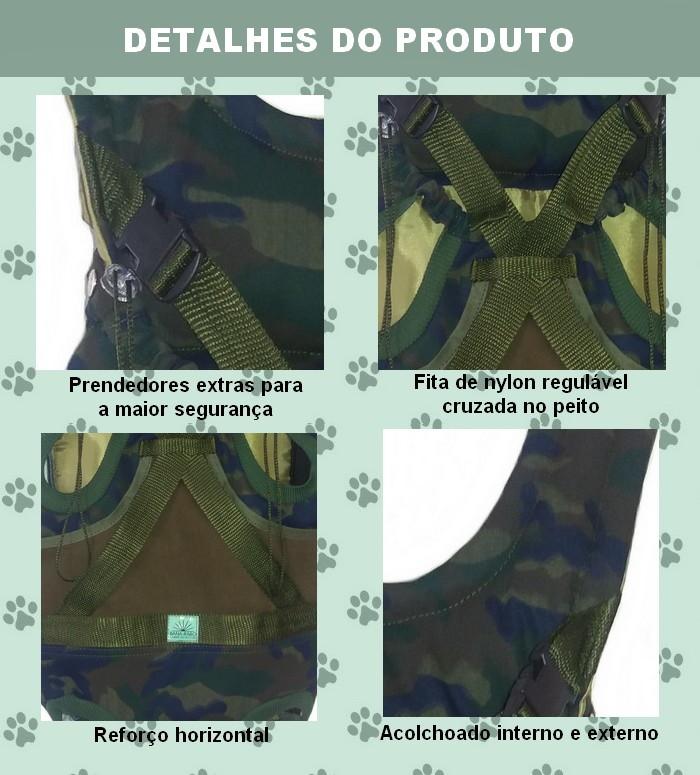 8b23720e5 Mochila Reforçada Canguru Bagdog Transporte Bolsa para Cães no Elo7 ...