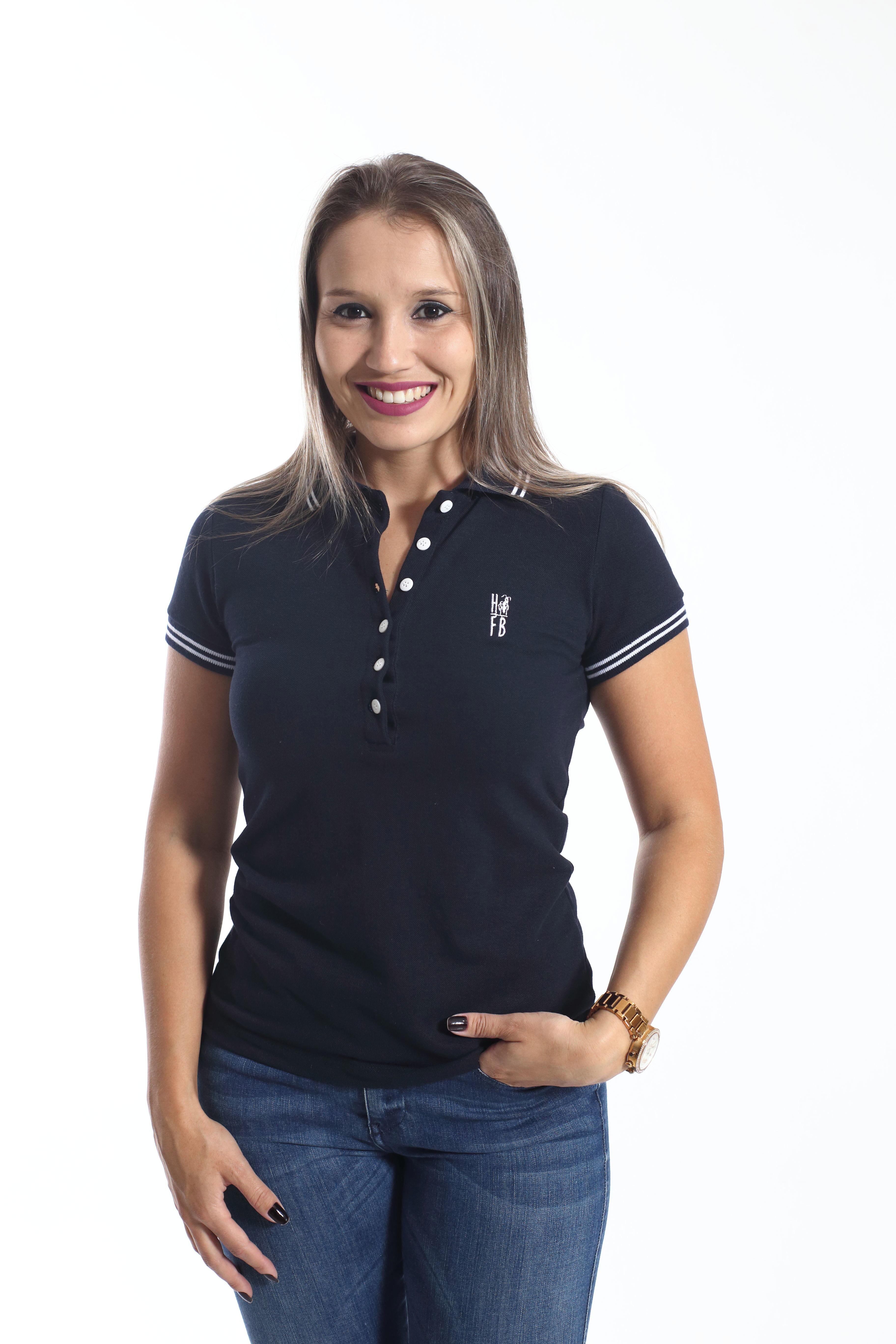 cb3702075f1ad Camisa Polo Feminina Dudalina