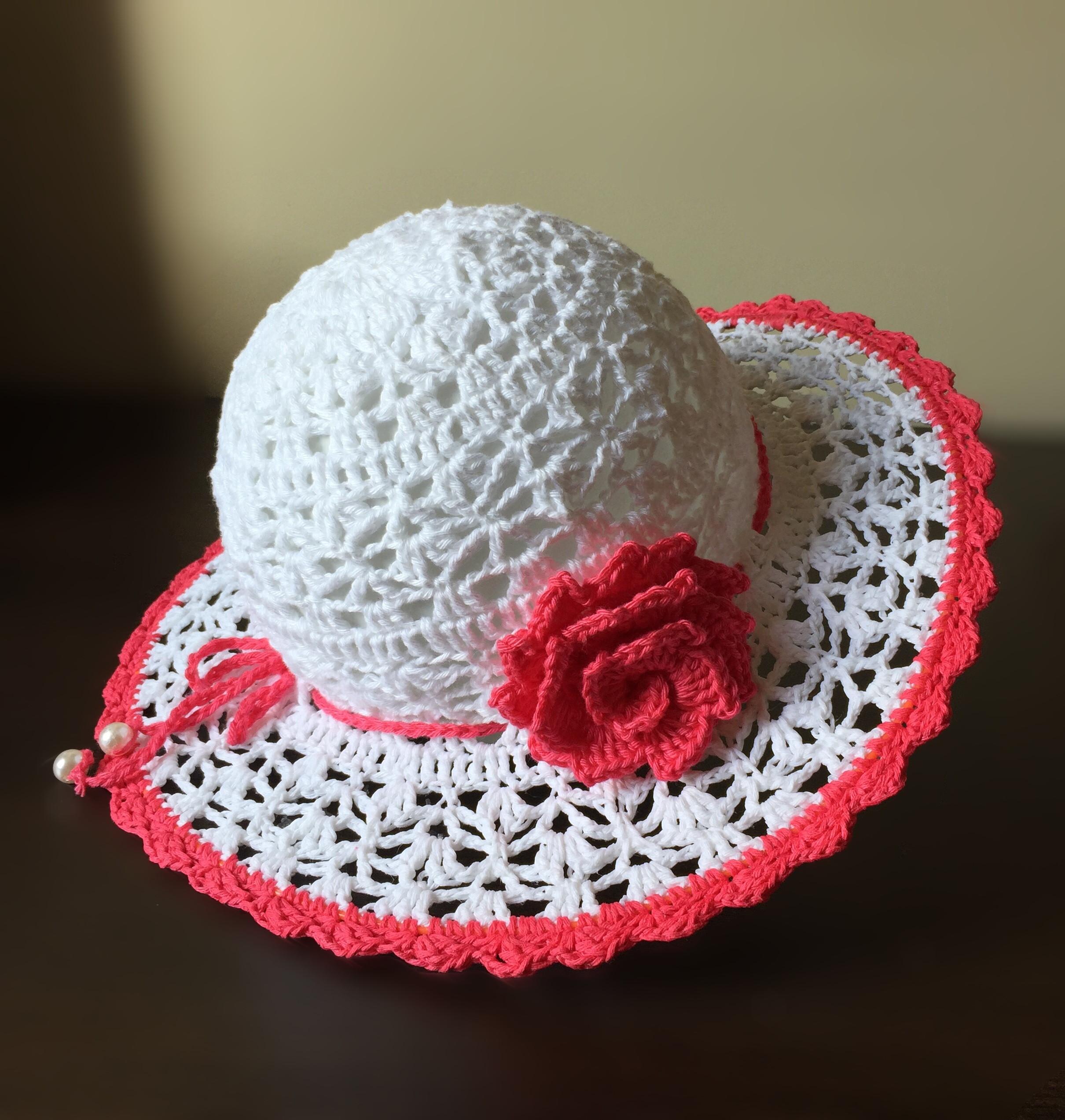 Chapeu Croche Infantil  bca2f1068ea