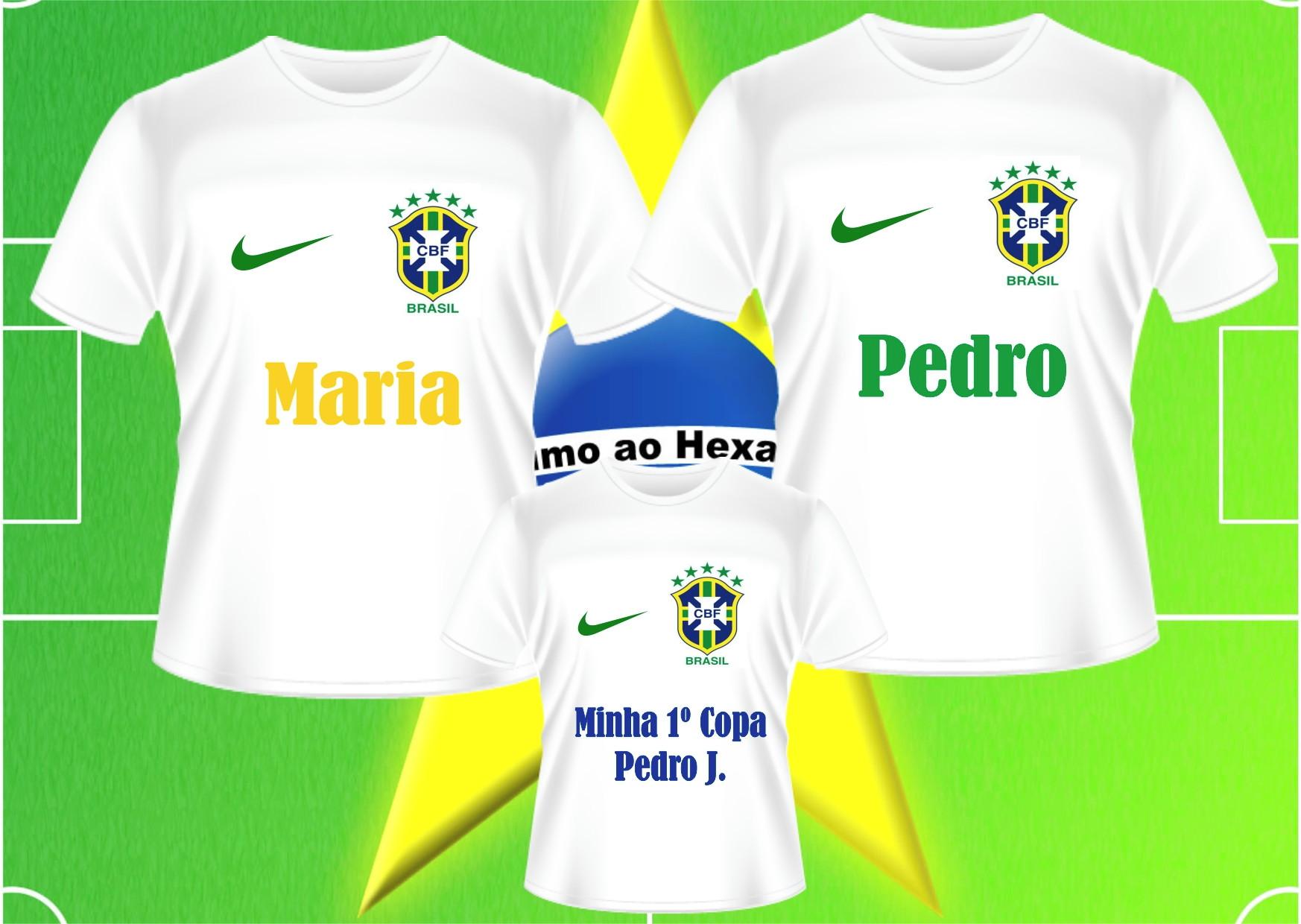 Kit Chaveiros do Brasil Personalizado Copa 2018  bea065100977f