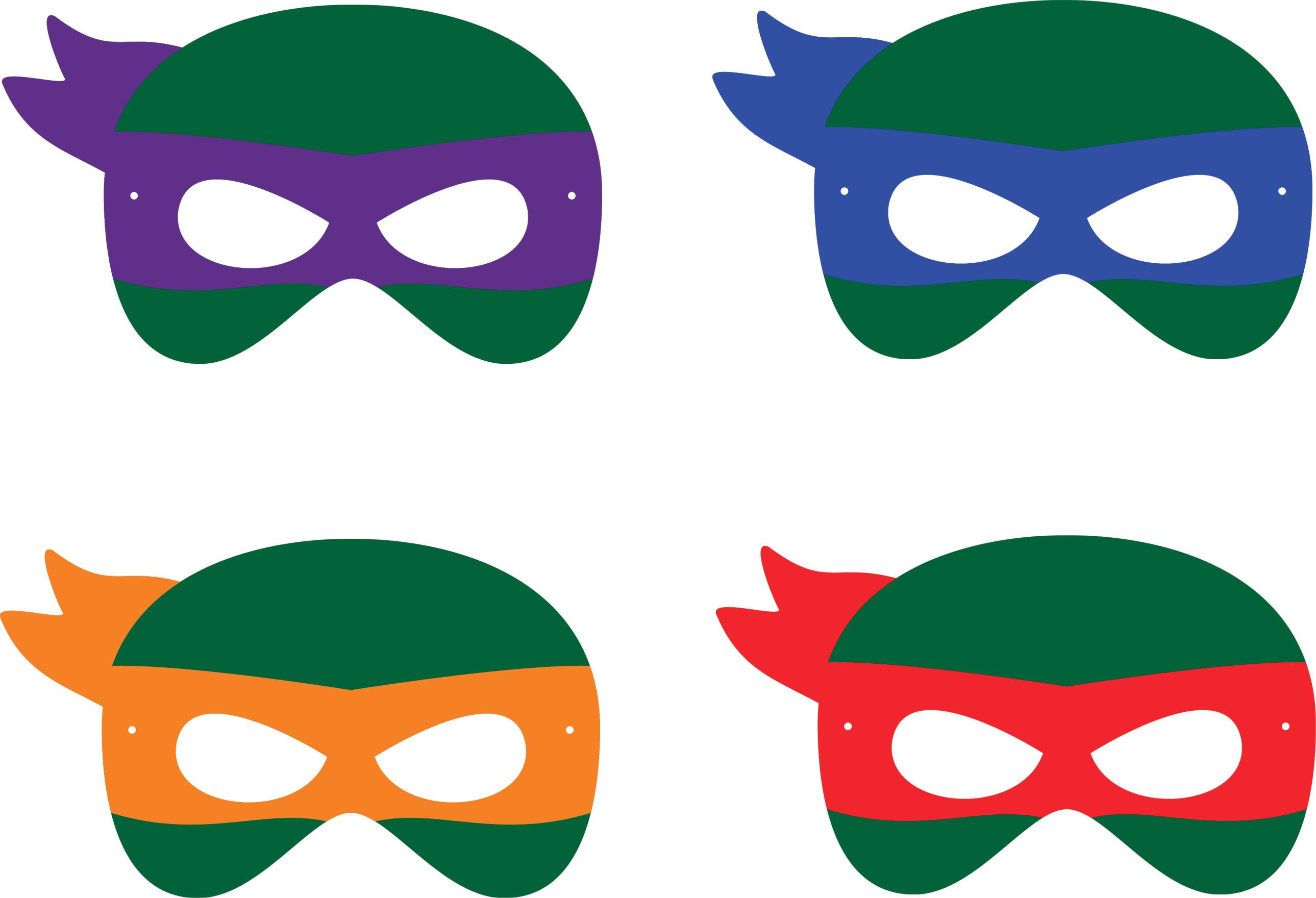Mascara Tartarugas Ninja No Elo7 Subliime Personalizados C5262f