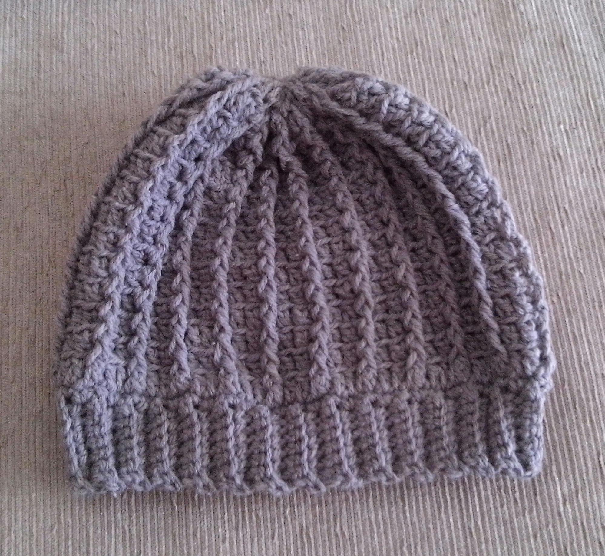 Touca Gorro Areia Unissex Croche  7e0a743c9b1